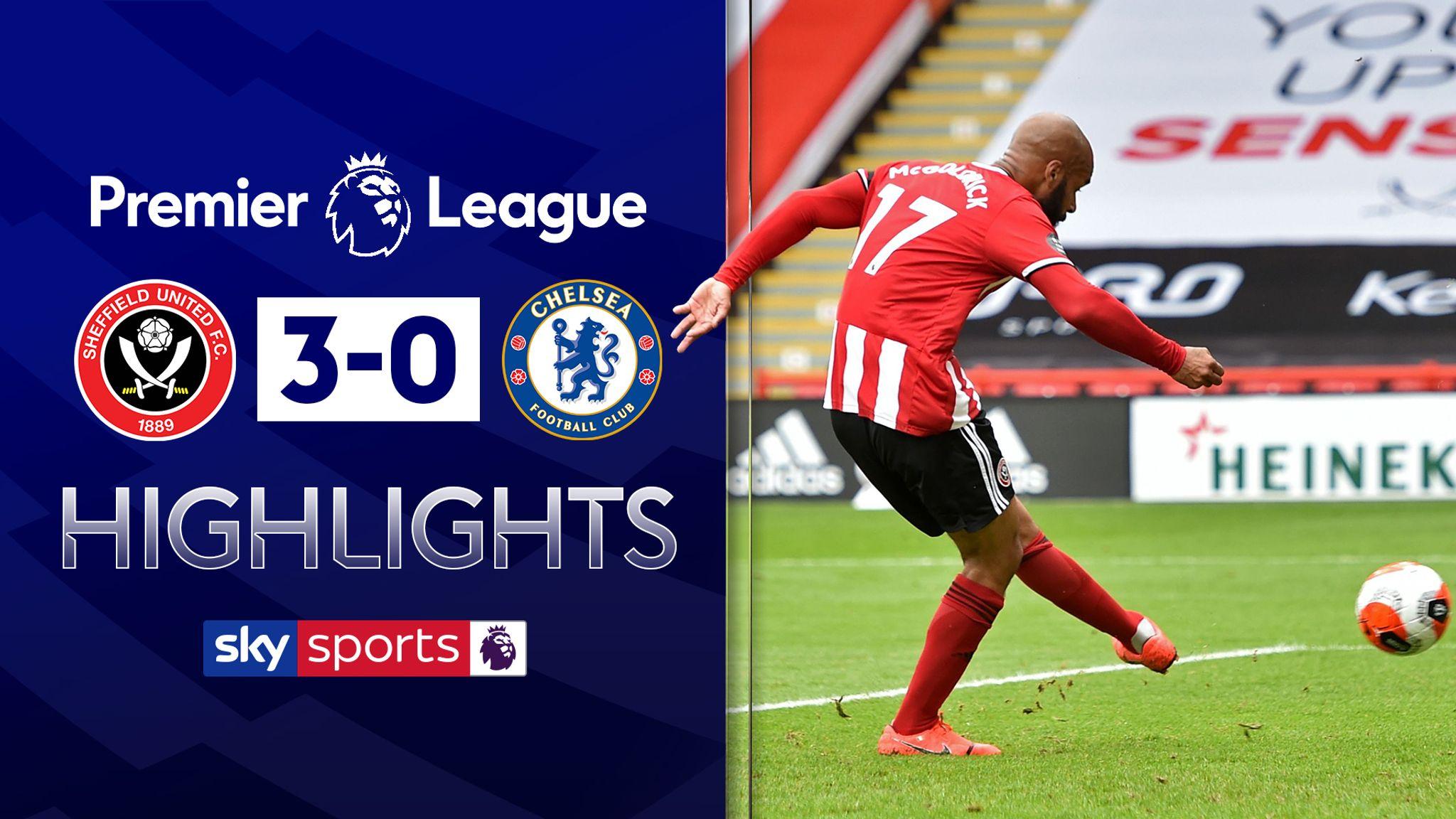 Sheffield United v Chelsea highlights
