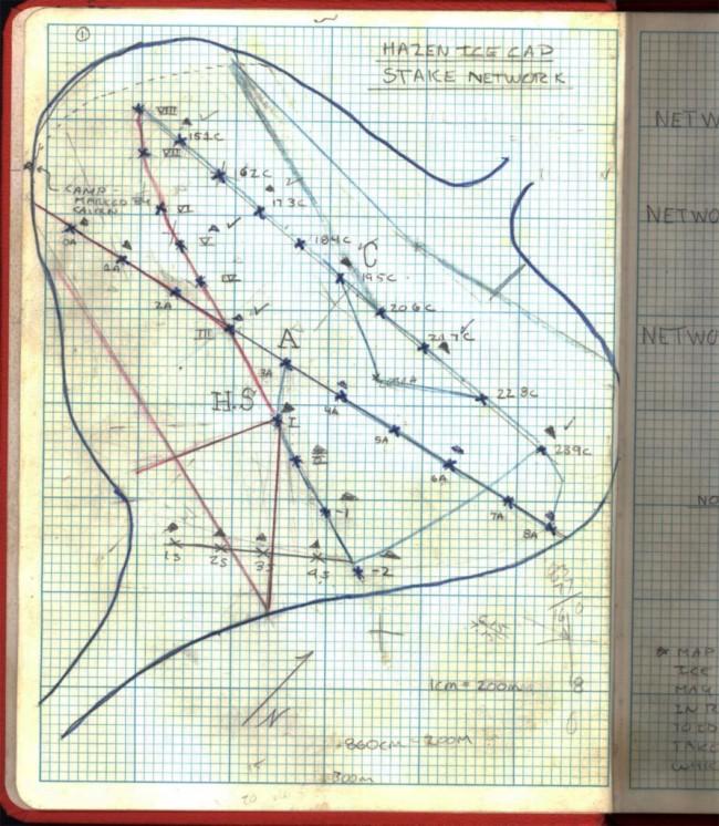 Mark Serreze's 1982 Field Book