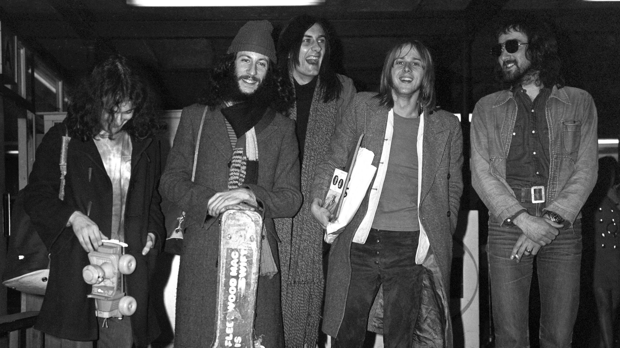 Green (second left) and Fleetwood Mac in 1970