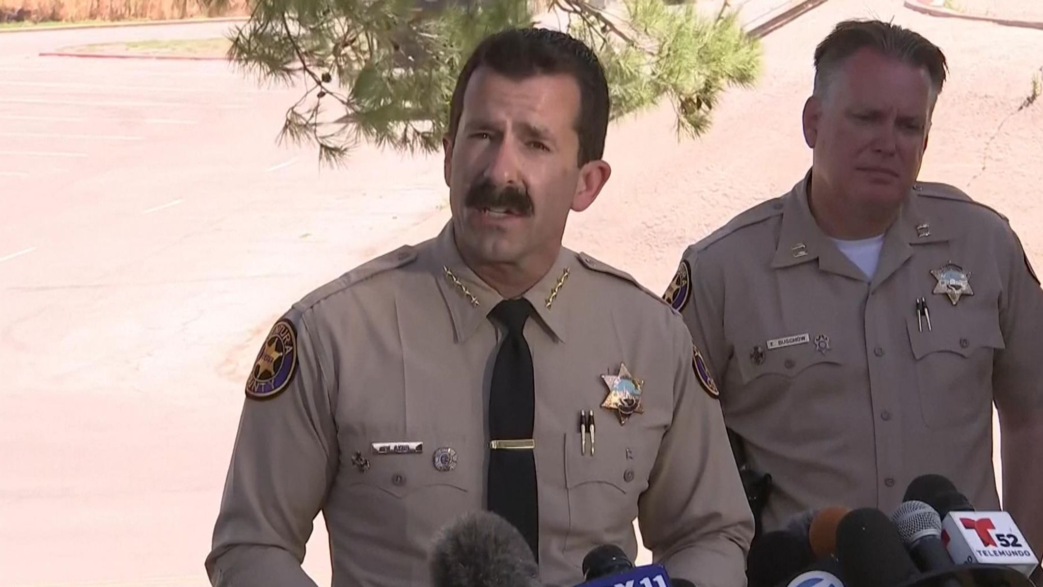 Sheriff Bill Ayub gives conformation police believe the body found is that of Rivera