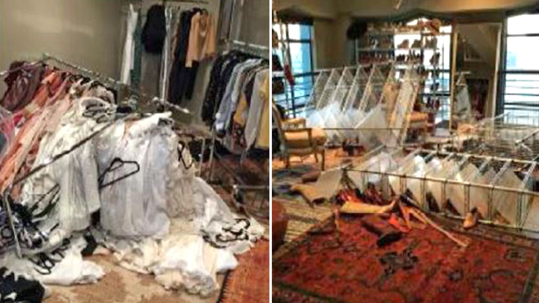 Heard says Depp trashed her closet in Australia in March 2015