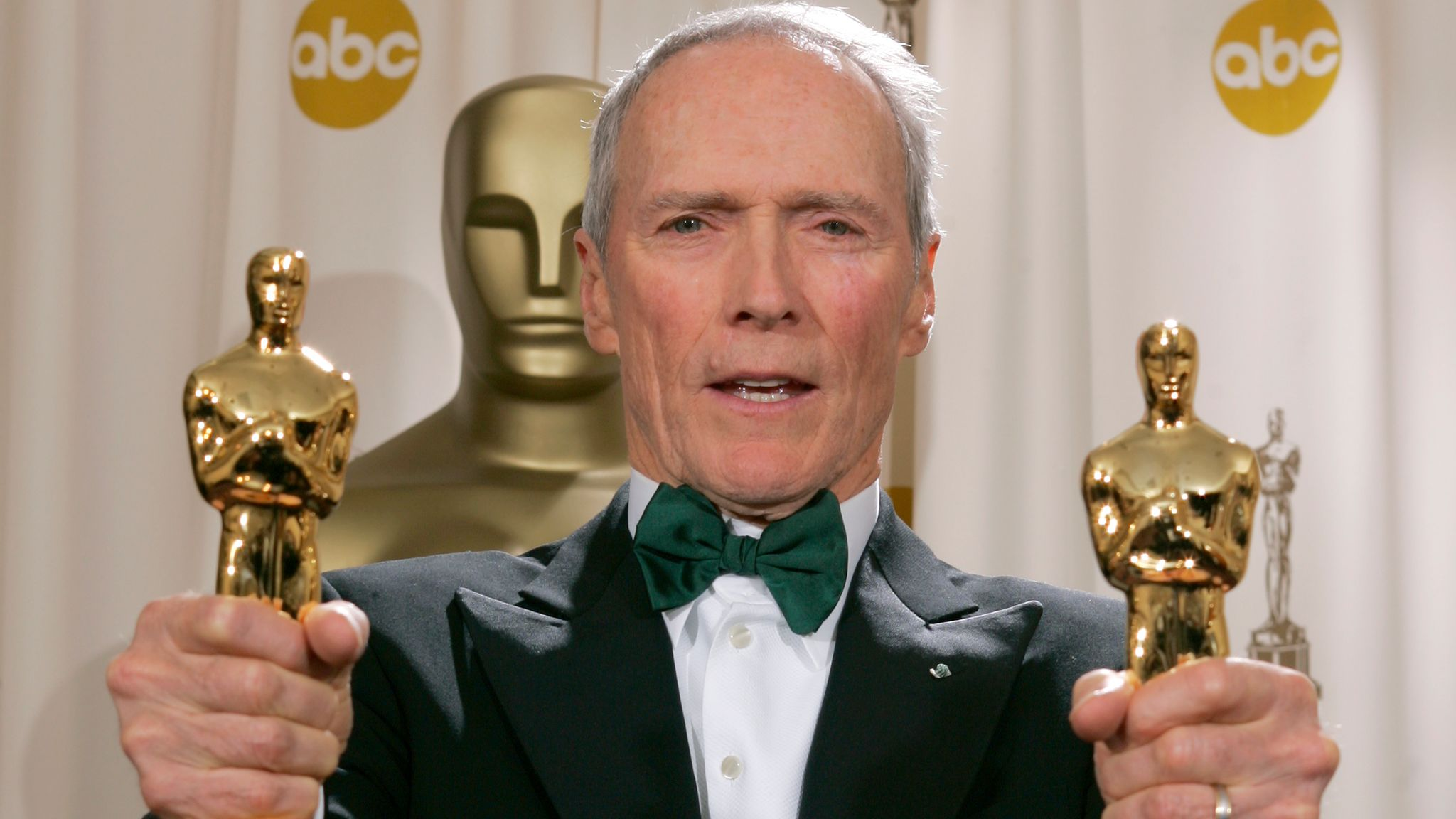 A double-Oscar win for Clint Eastwood in 2005