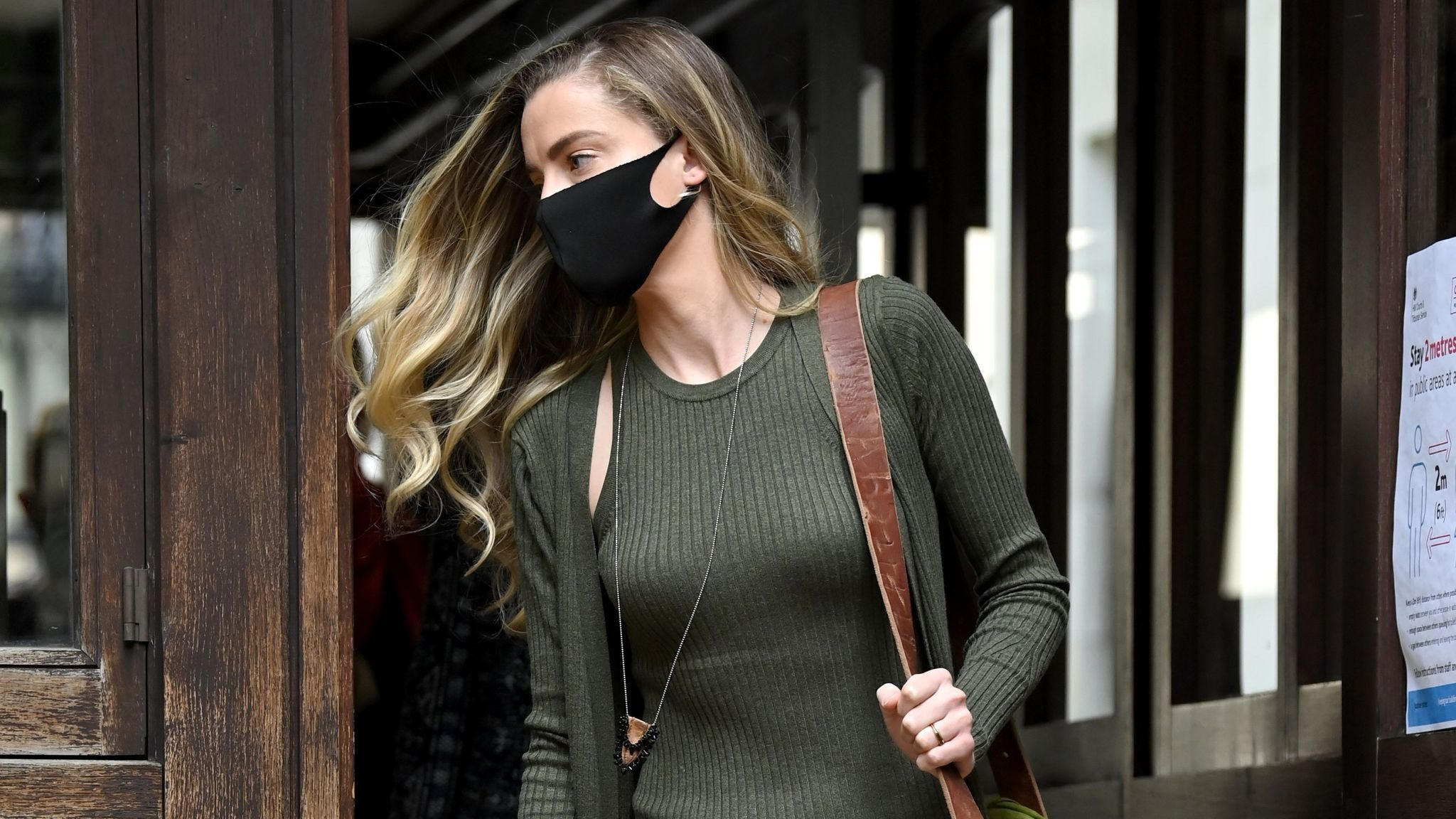 Whitney Heard, sister of Amber Heard, attends day 5 of Johnny Depp's libel case against The Sun Newspaper at the Royal Courts of Justice, Strand on July 13, 2020 in London, England. The Hollywood actor is taking News Group Newspapers, publishers of The Sun, to court over allegations that he was violent towards his ex-wife, Amber Heard