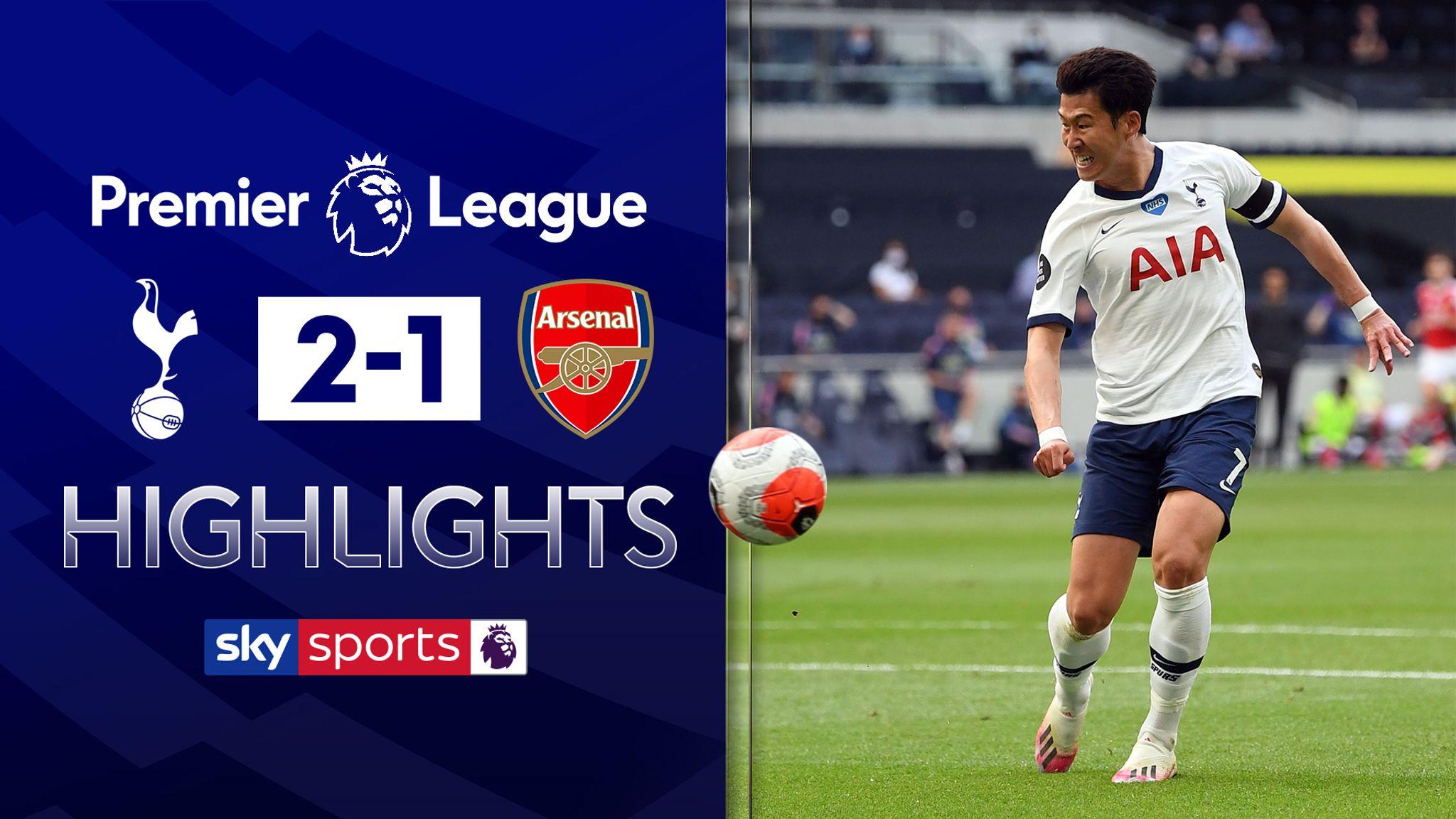 Tottenham v Arsenal highlights