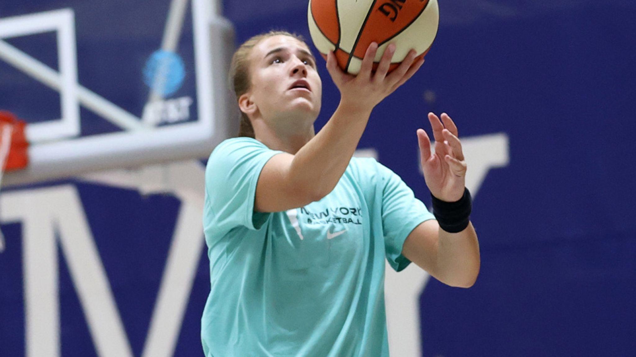 2020 No 1 Draft pick Sabrina Ionescu works out inside the WNBA bubble