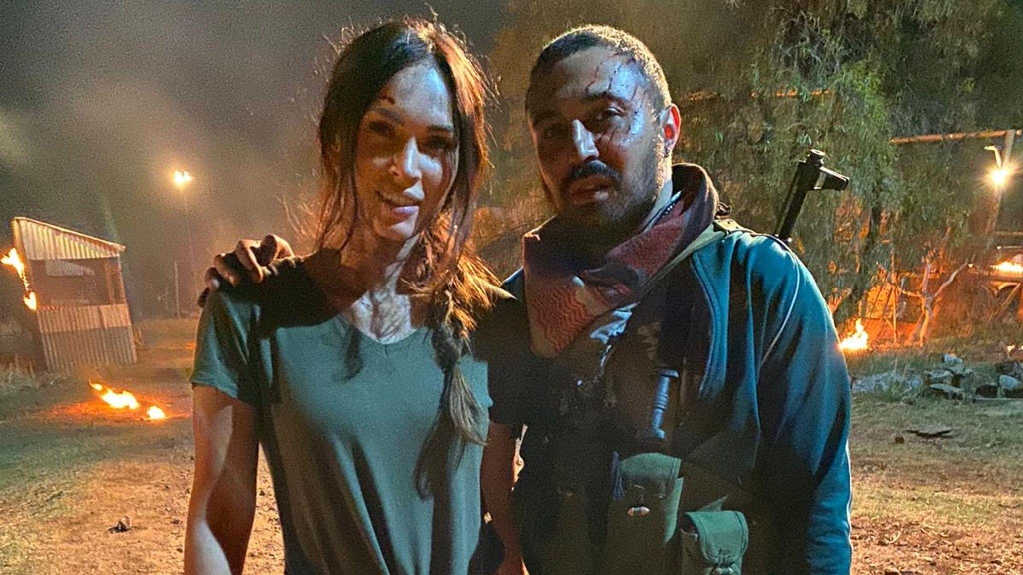 Actor Adam Deacon stars in Rogue with Megan Fox