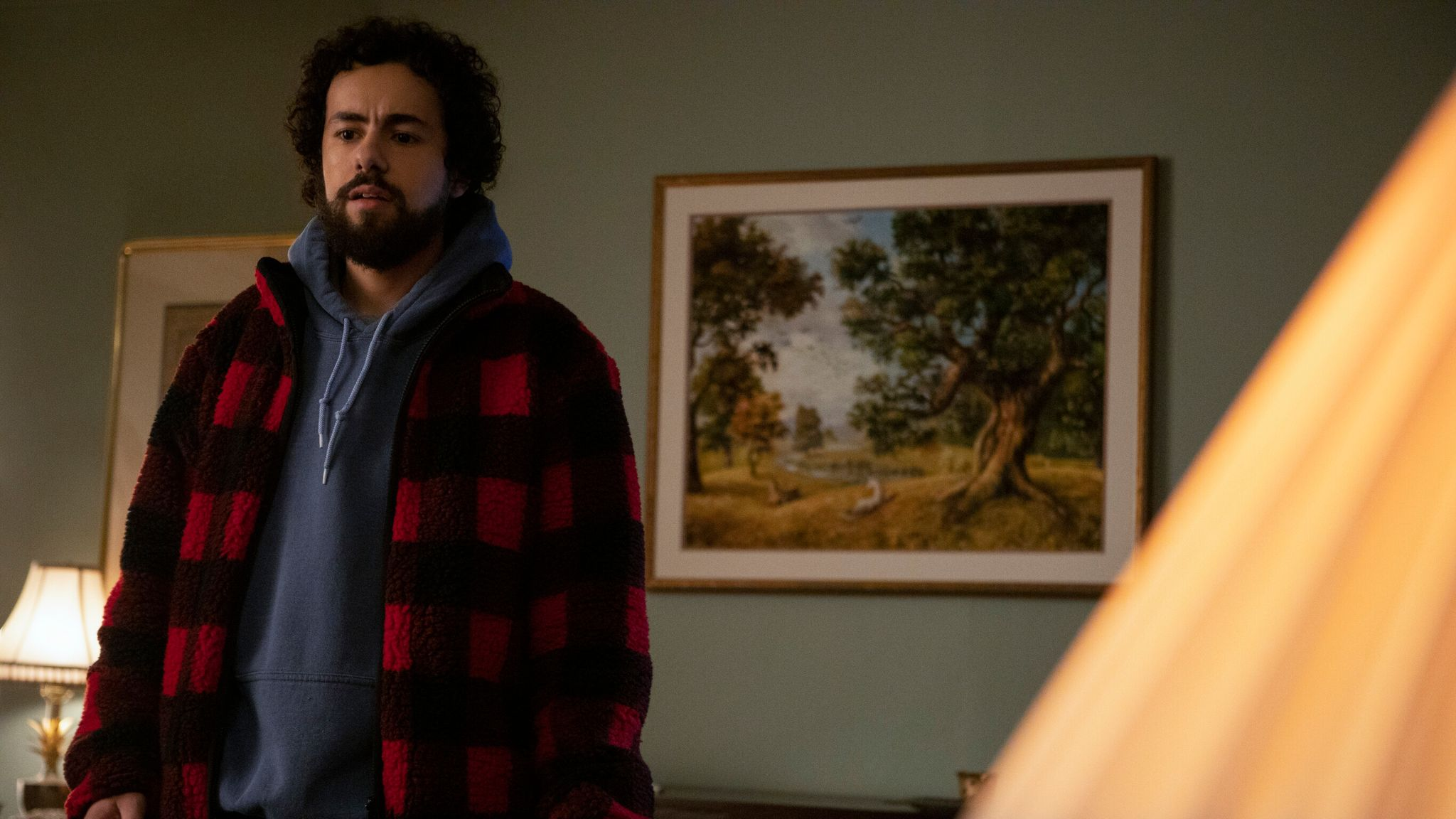 Youssef says the boost the show was given by the Golden Globe win hasn't come without its downsides. Pic: Craig Blankenhorn/Hulu