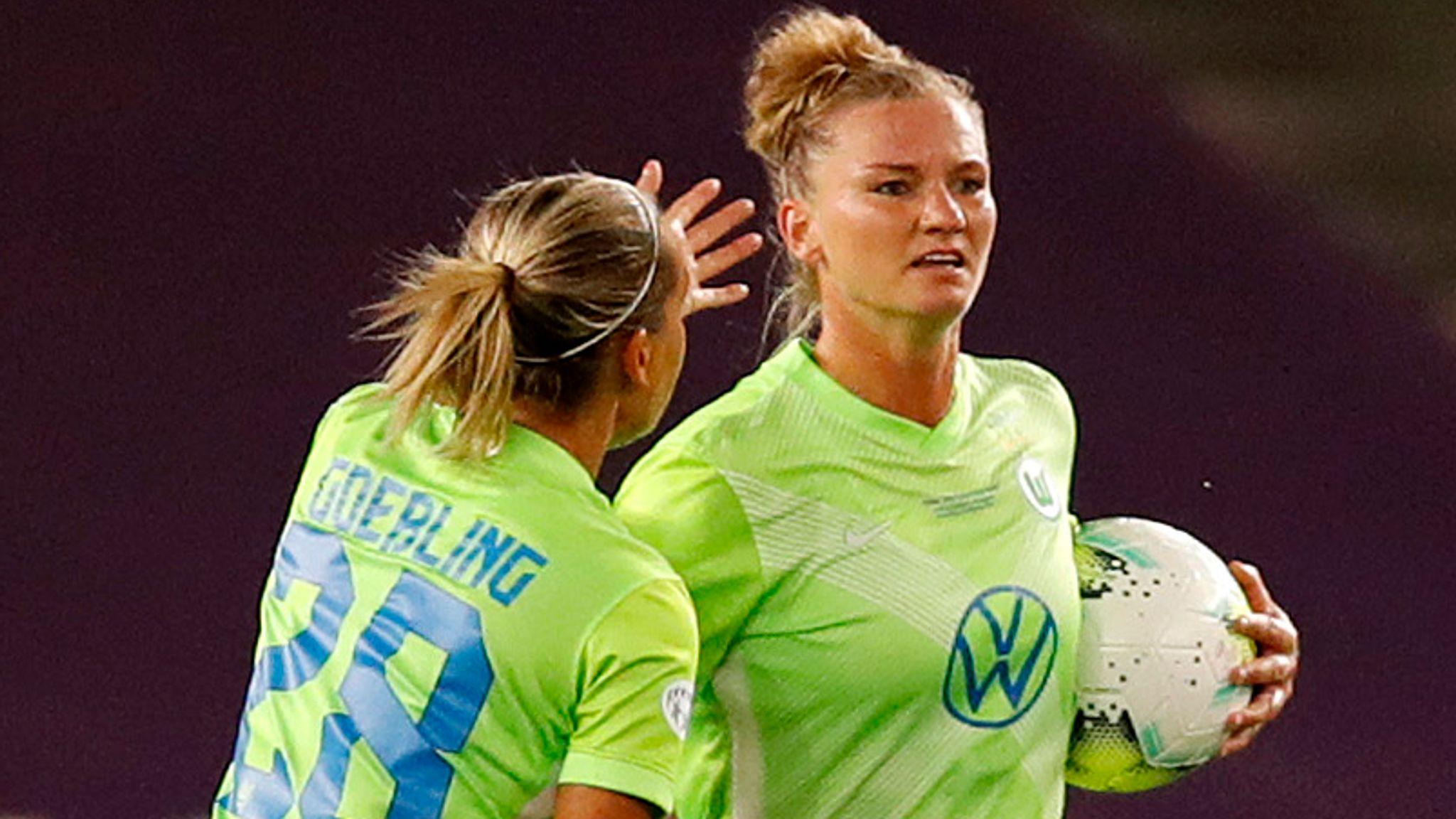 Alexandra Popp scored the consolation for Wolfsburg