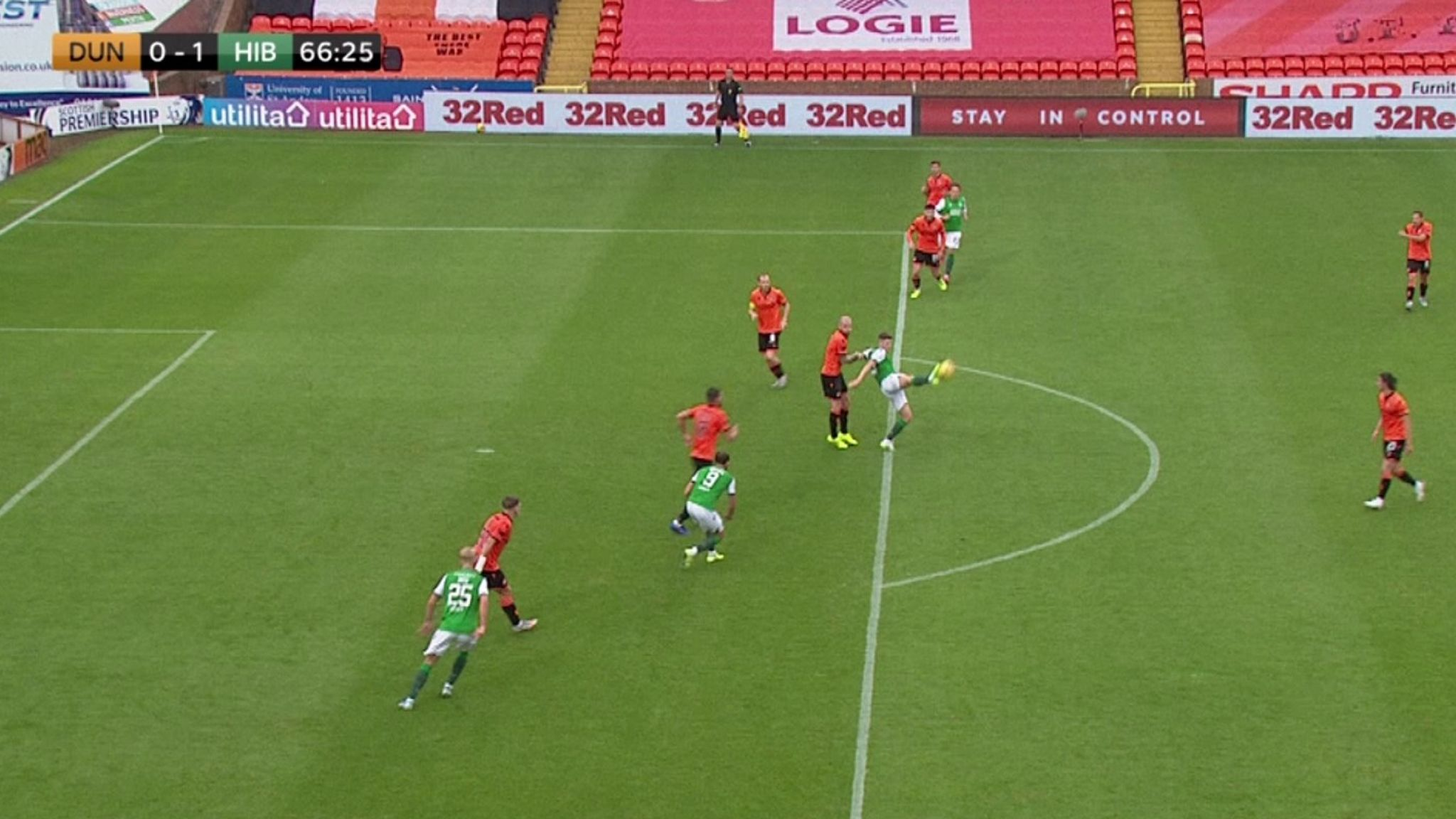 Replays show Doig was offside in the build-up to the only goal