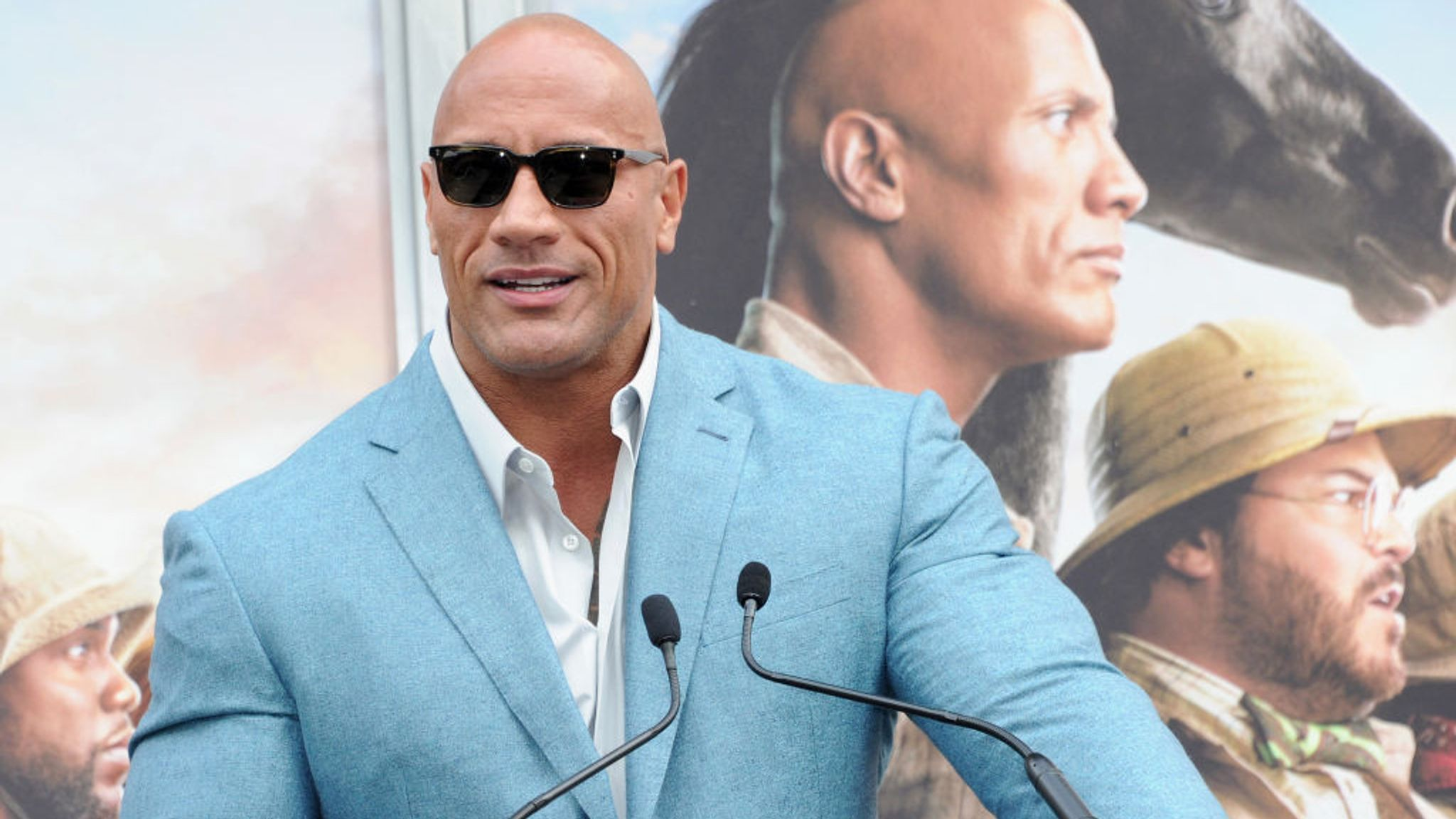 Dwayne Johnson is the highest paid actor in the world