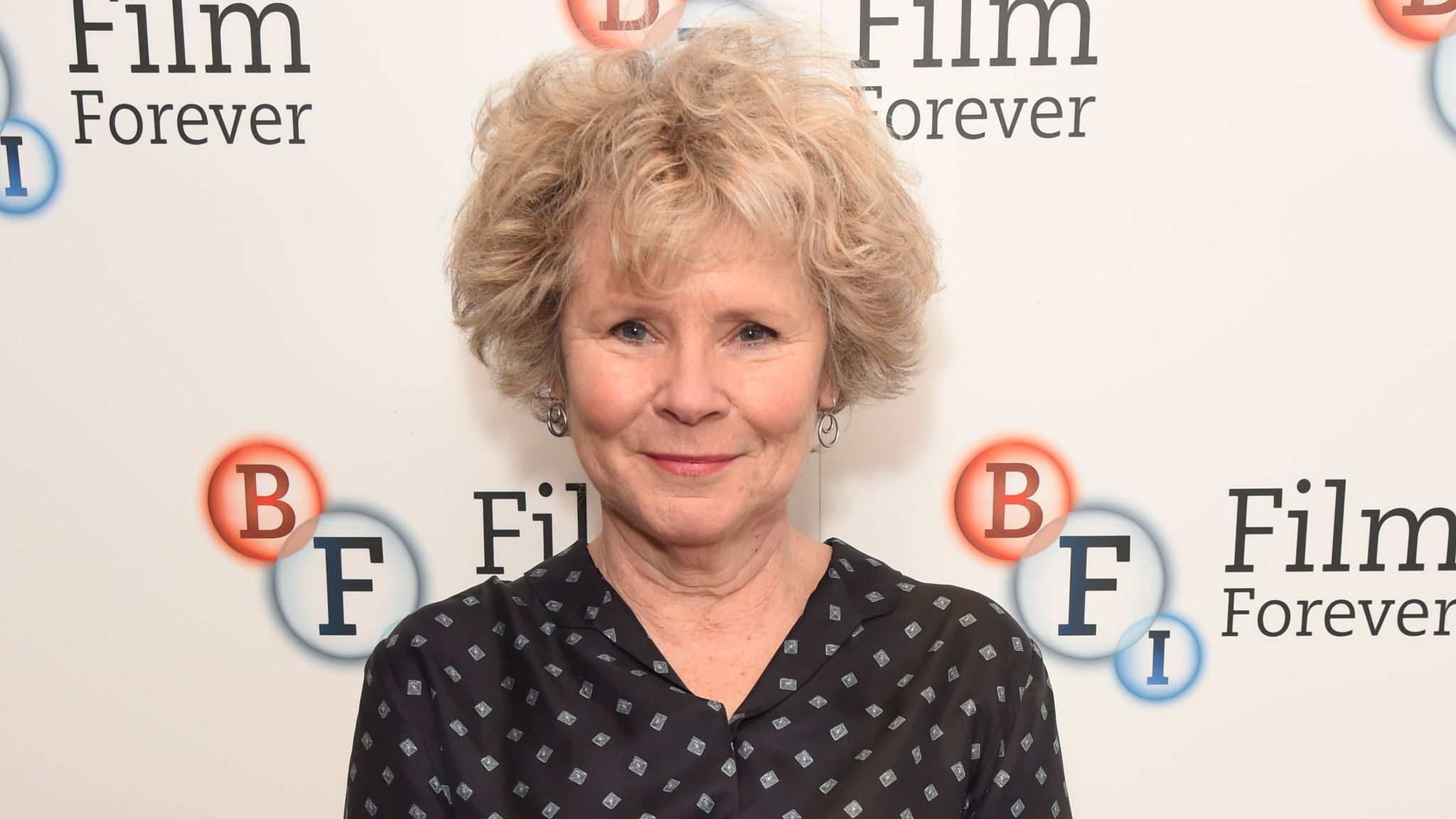 """LONDON, ENGLAND - DECEMBER 14: Imelda Staunton attends a screening of """"West Side Story"""" with introduction by Imelda Staunton at the BFI Southbank on December 14, 2019 in London, England. (Photo by David M. Benett/Dave Benett/Getty Images)"""