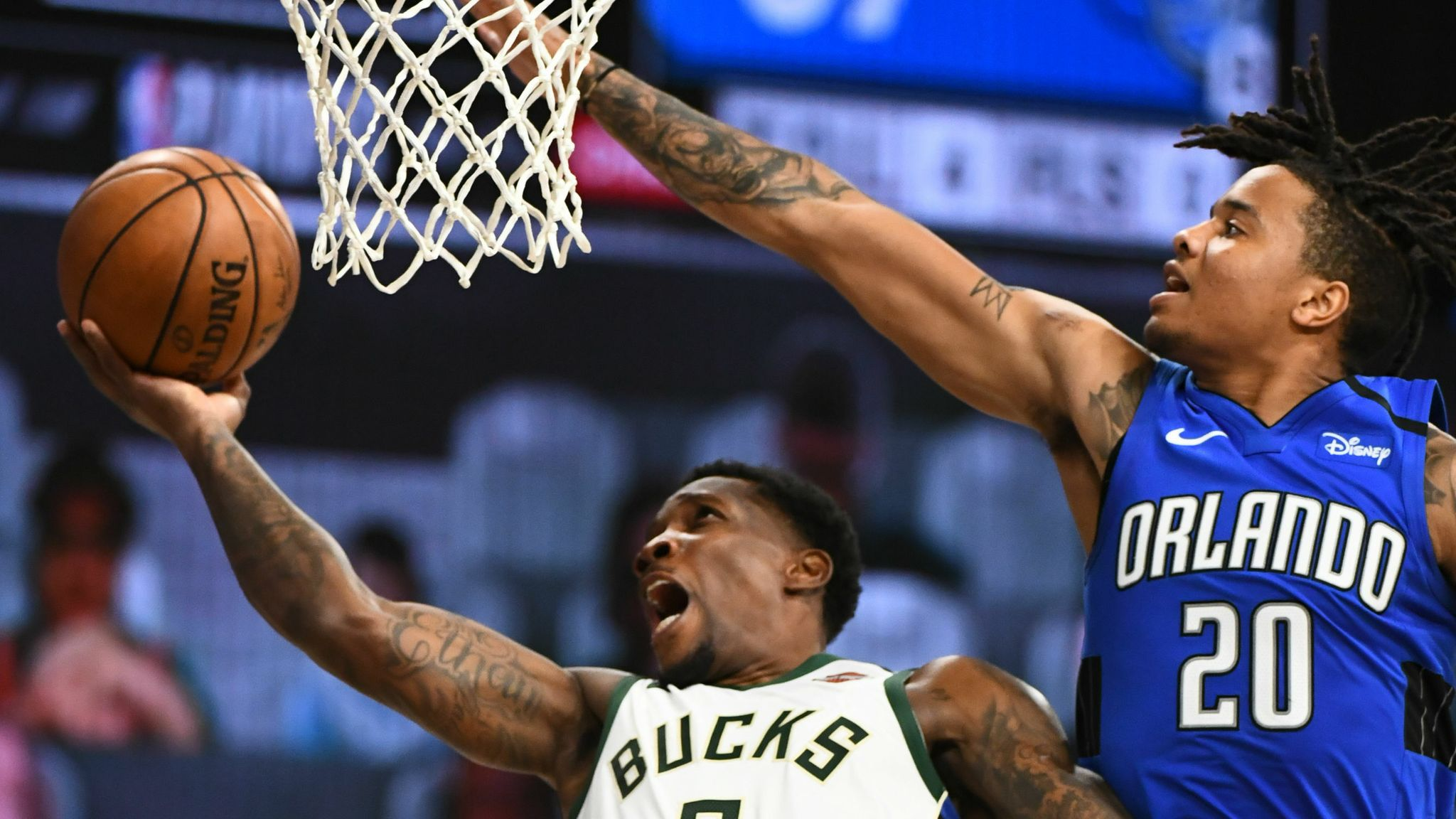 Orlando Magic and the Milwaukee Bucks
