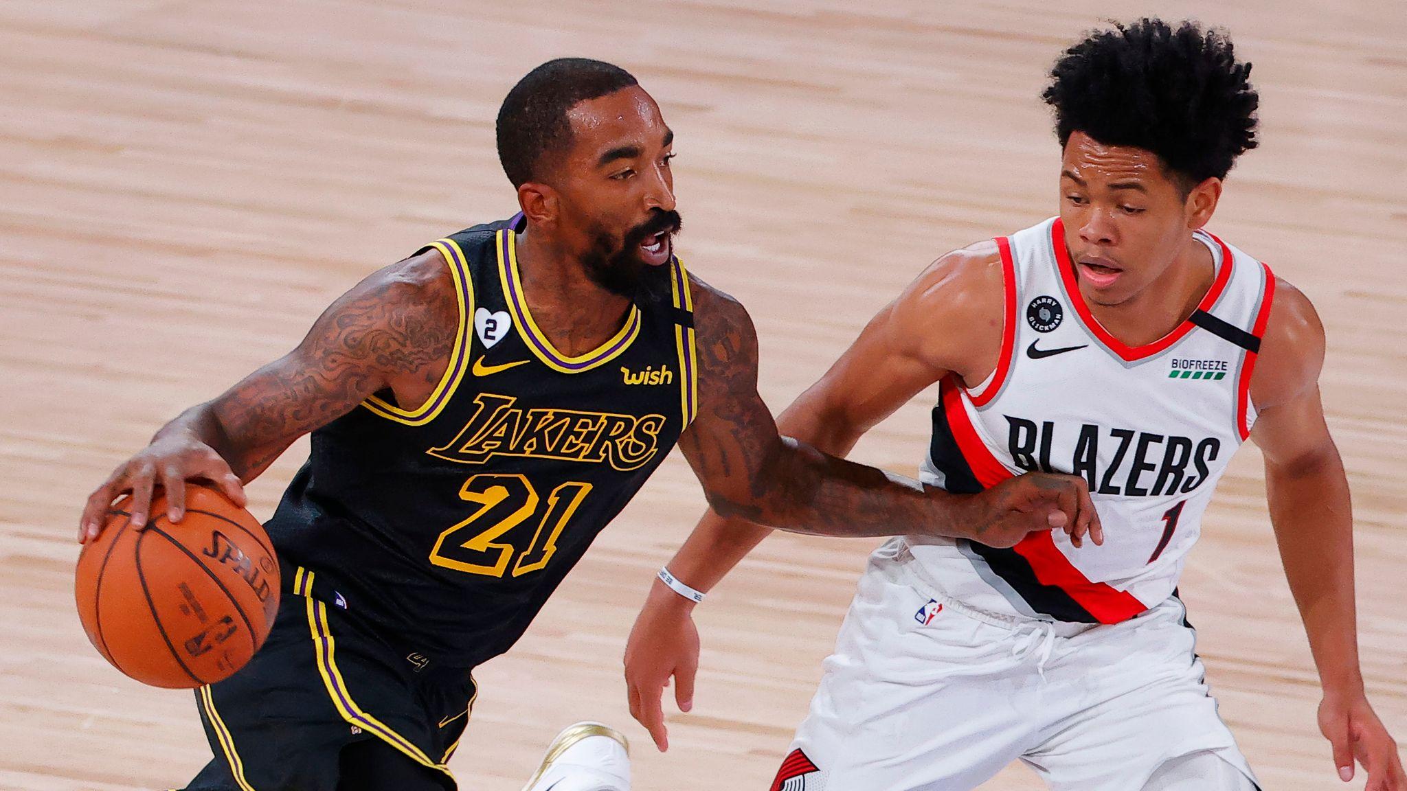 La Los Angeles Lakers Portland Trail Blazers