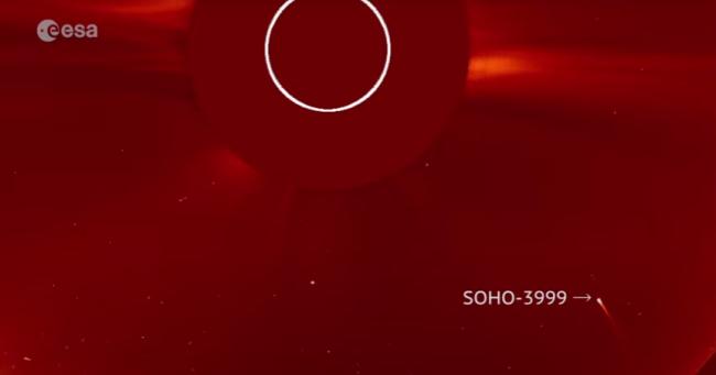 soho nasa comet sun grazer project