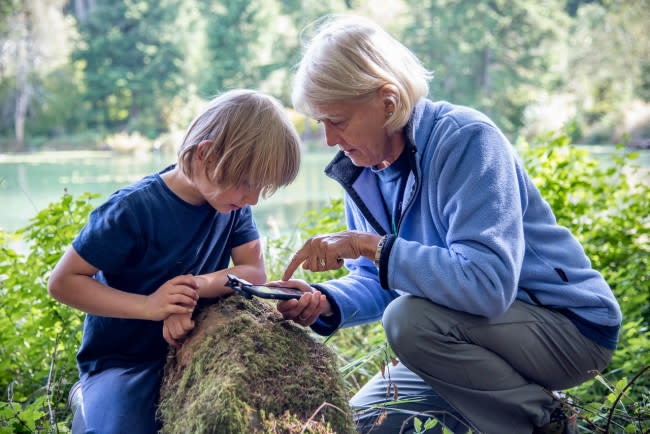 citizen science learning in nature