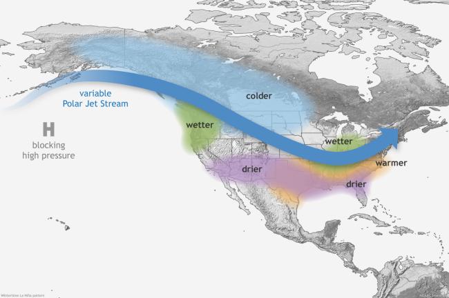 La Niña Impacts During Winter