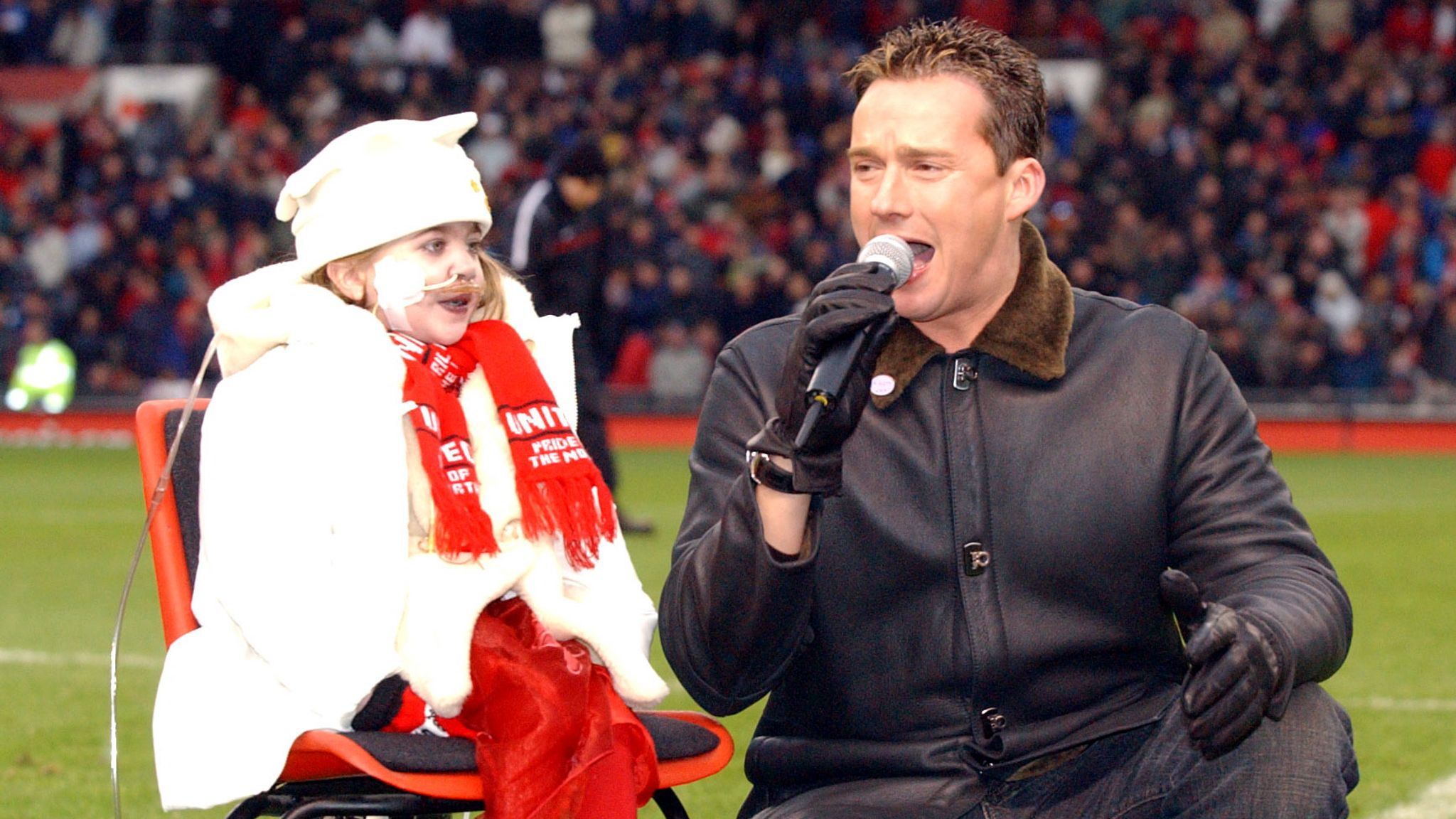 Some say Watson had performed at Old Trafford more often than Beckham
