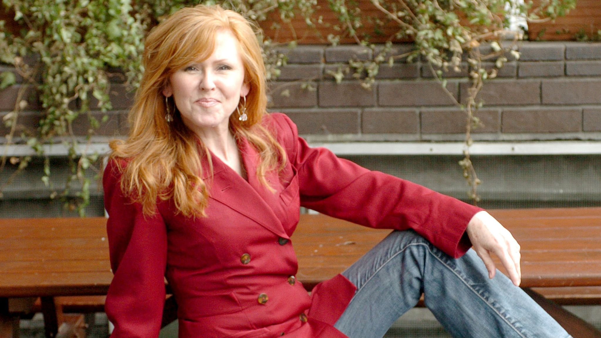 """Carol Decker during ITV's """"Hit Me Baby One More Time"""" - Photocall at ITV Studios in London, Great Britain"""