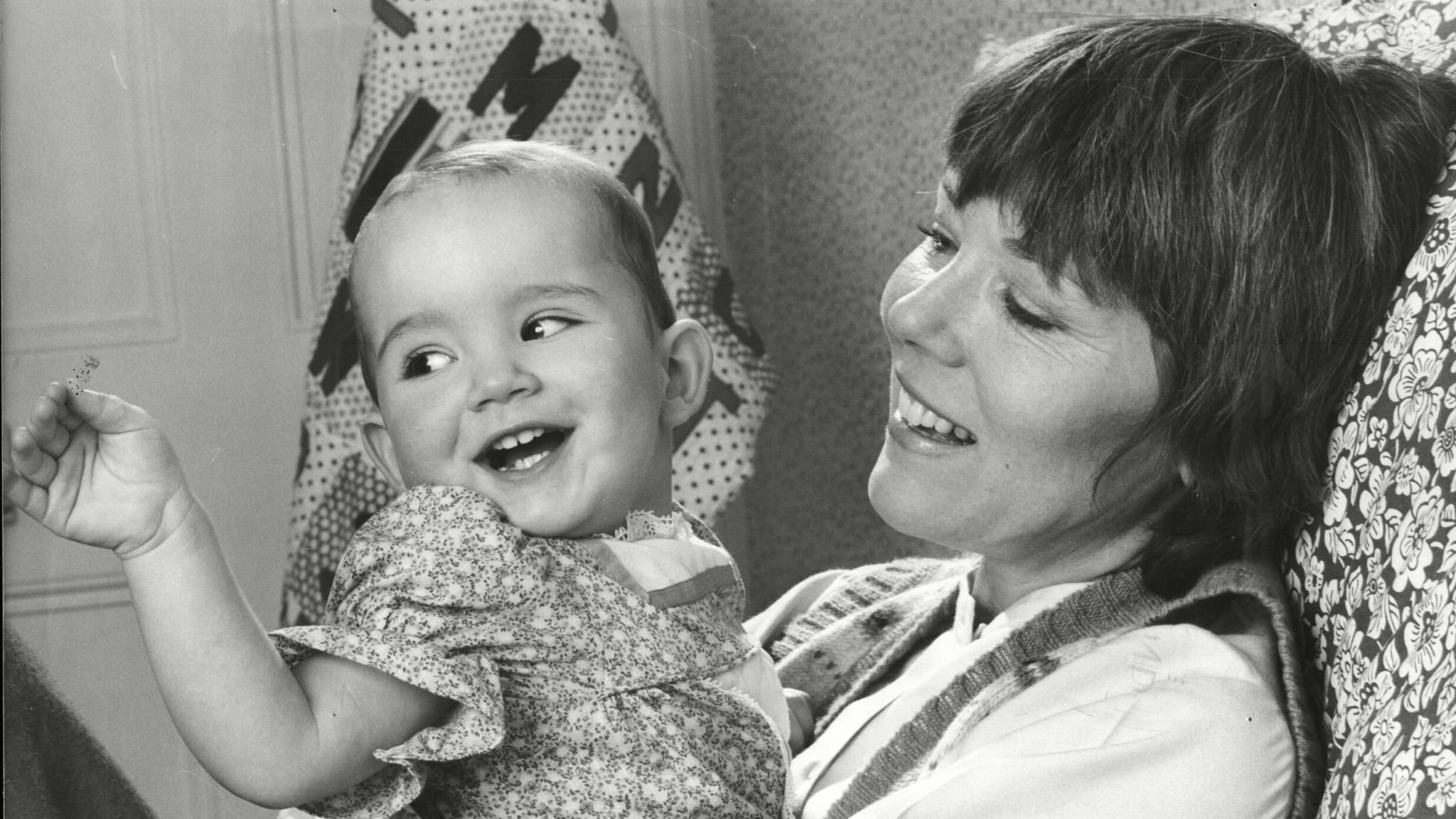Diana Rigg Actress With Daughter Rachel Stirling. Pic: Chris Barham/ANL/Shutterstock