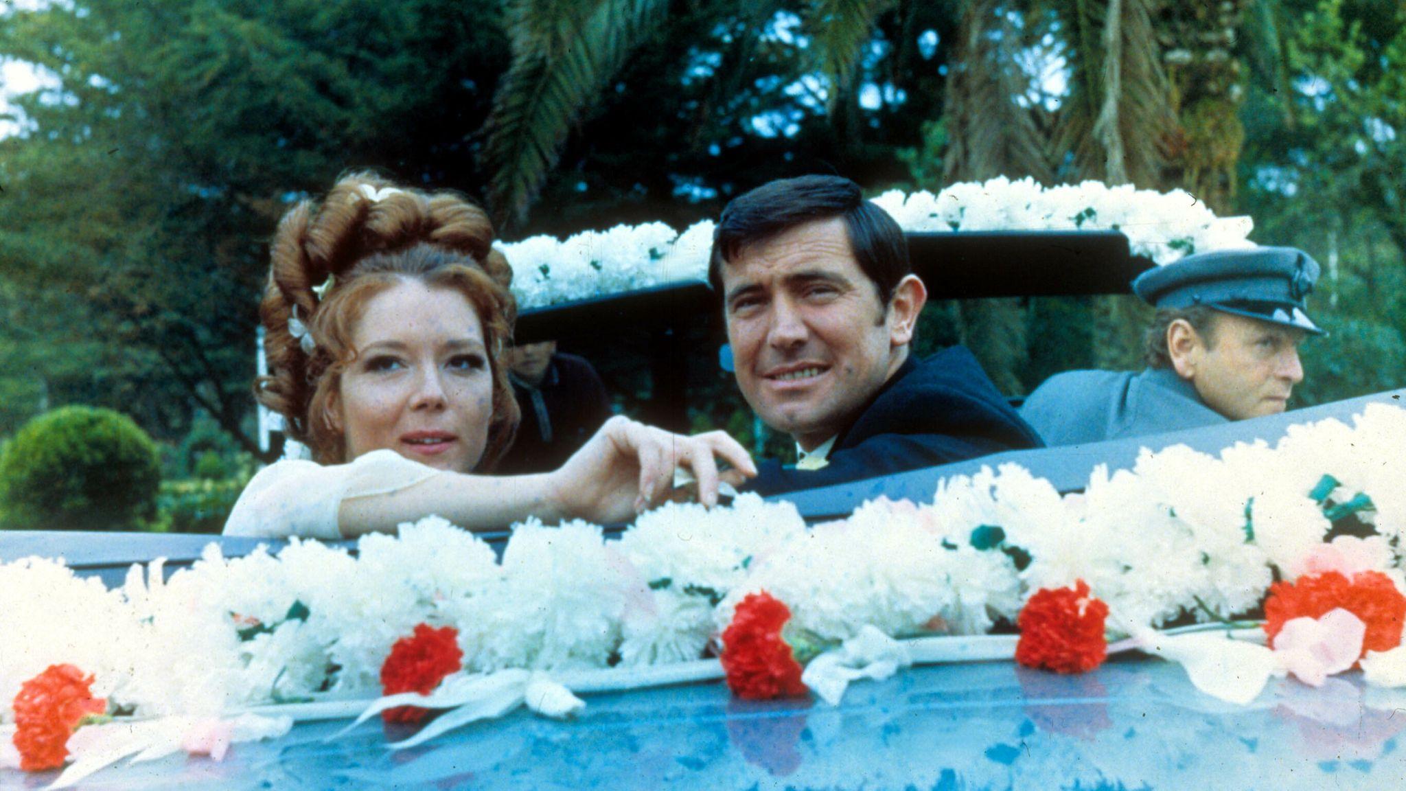 On Her Majesty's Secret Service, Diana Rigg, George Lazenby. Pic: Moviestore/Shutterstock