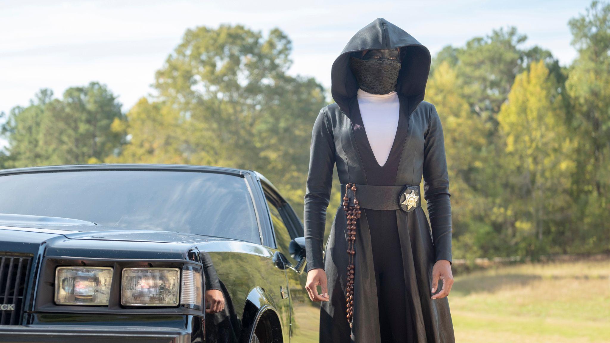Regina King in Watchmen. Pic:Sky/ HBO