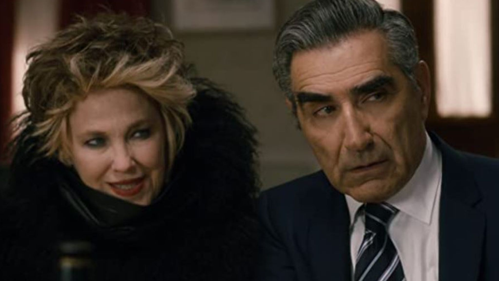 Eugene Levy and Catherine O'Hara in Schitt's Creek. Pic: CBC