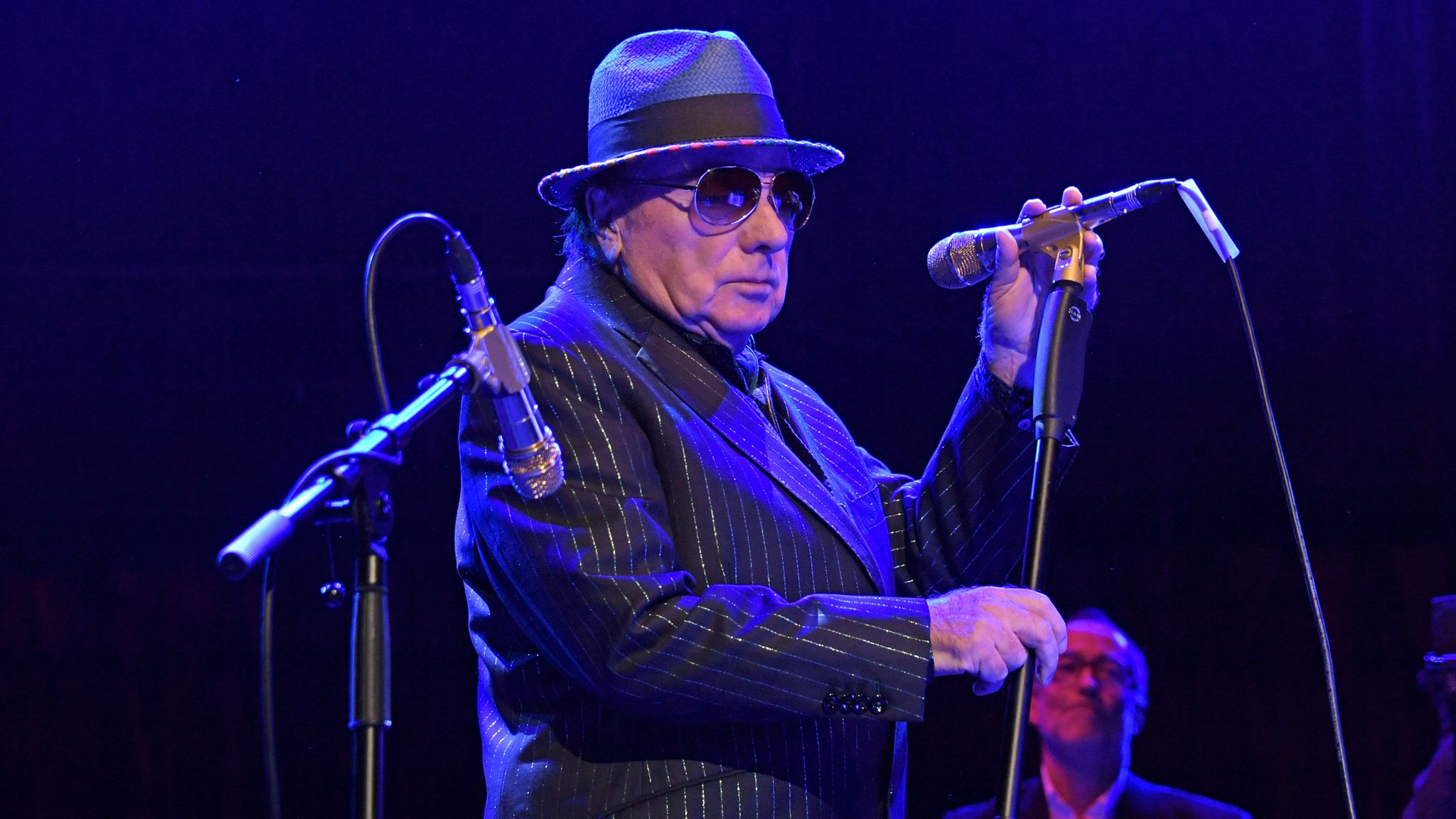 """Van Morrison performs at """"A Night At Ronnie Scotts: 60th Anniversary Gala"""" at the Royal Albert Hall on October 30, 2019 in London, England"""