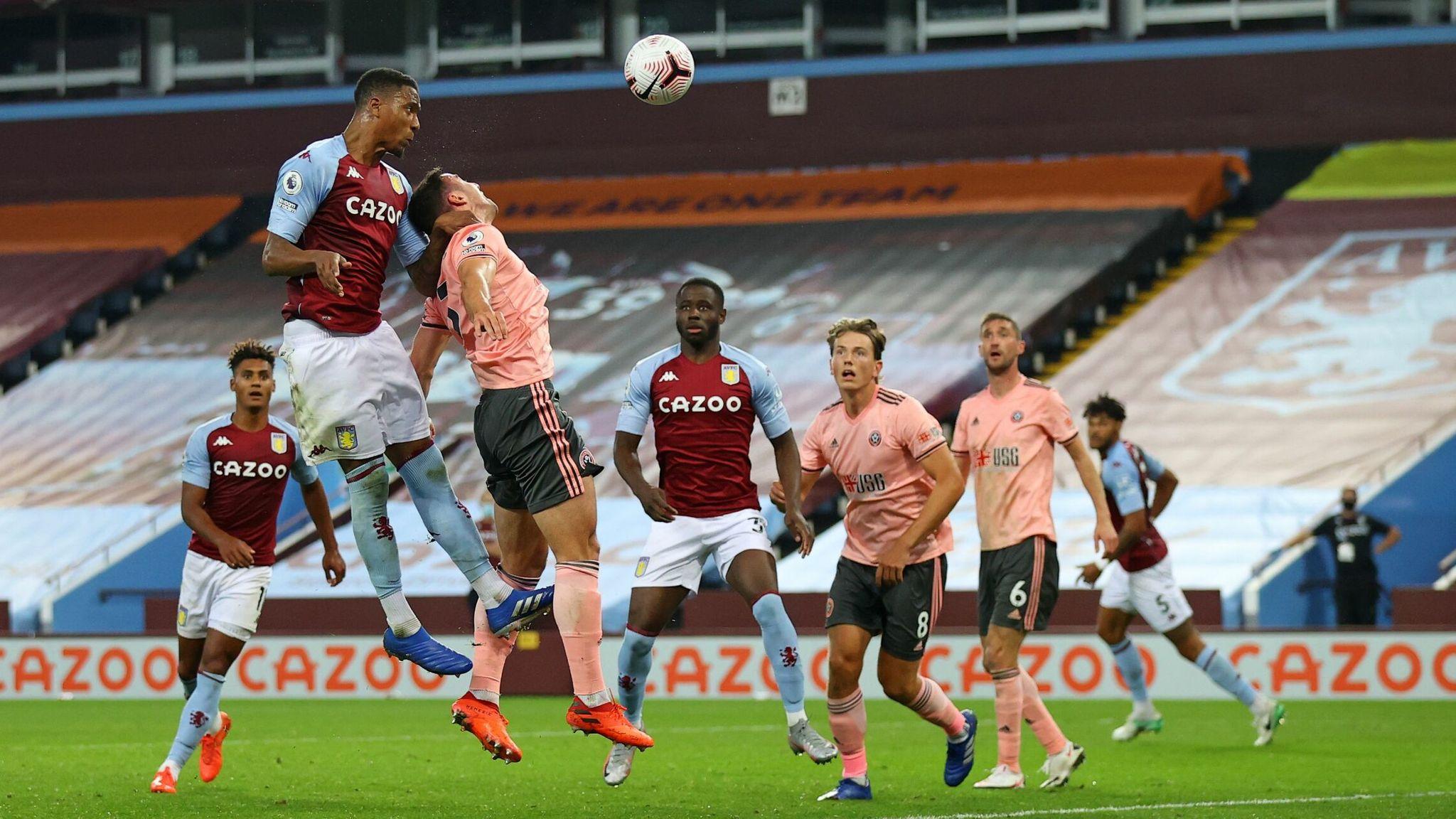 Ezri Konsa heads Villa in front