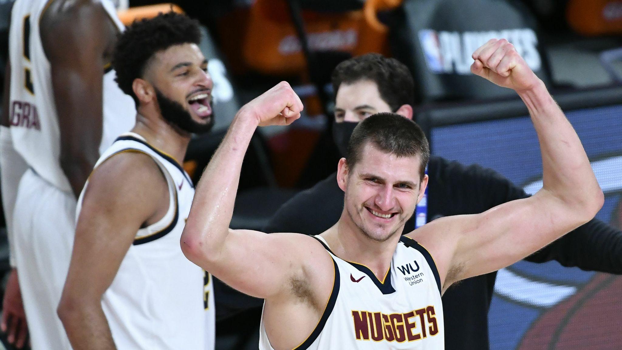 Nikola Jokci of the Denver Nuggets