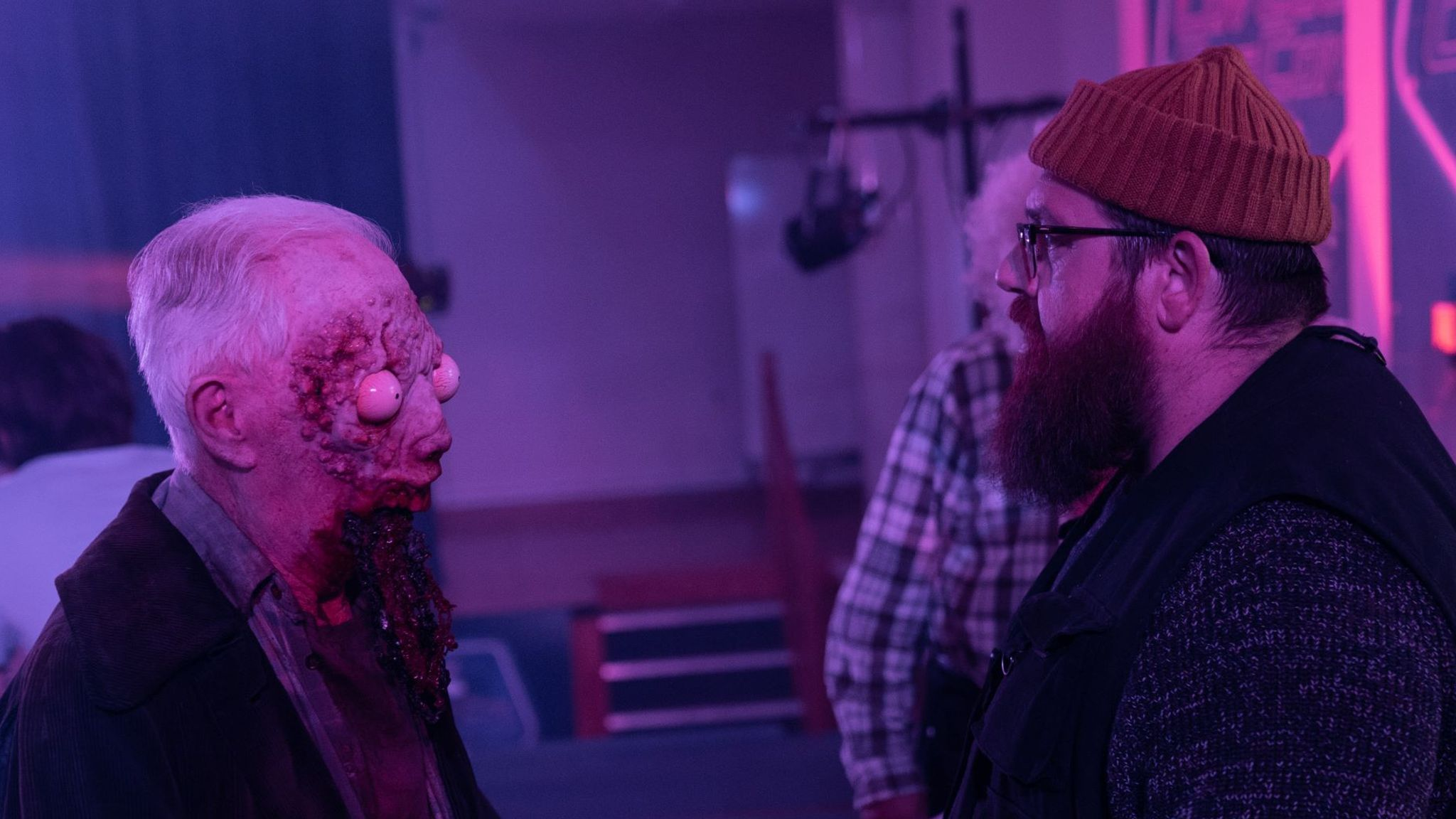 Nick Frost in Truth Seekers. Pic: Prime Video