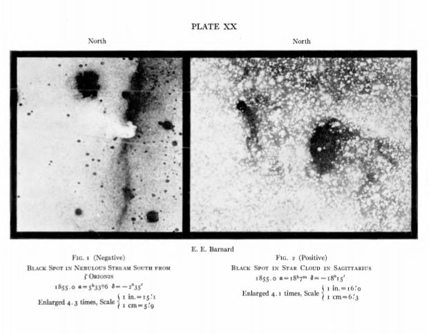E. E. Barnard horsehead nebula barnard 33