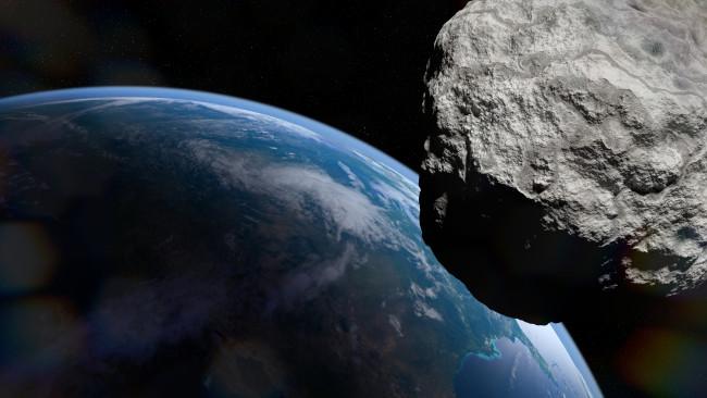 Asteroid Approaching Earth - Shutterstock