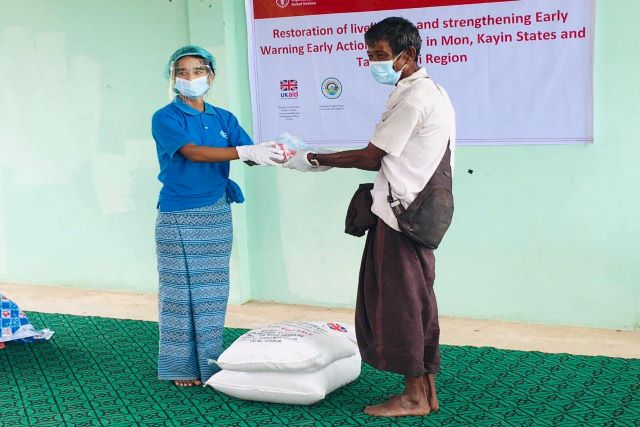 Myanmar | FAO and the United Kingdom join forces to restore agriculture production and livelihoods