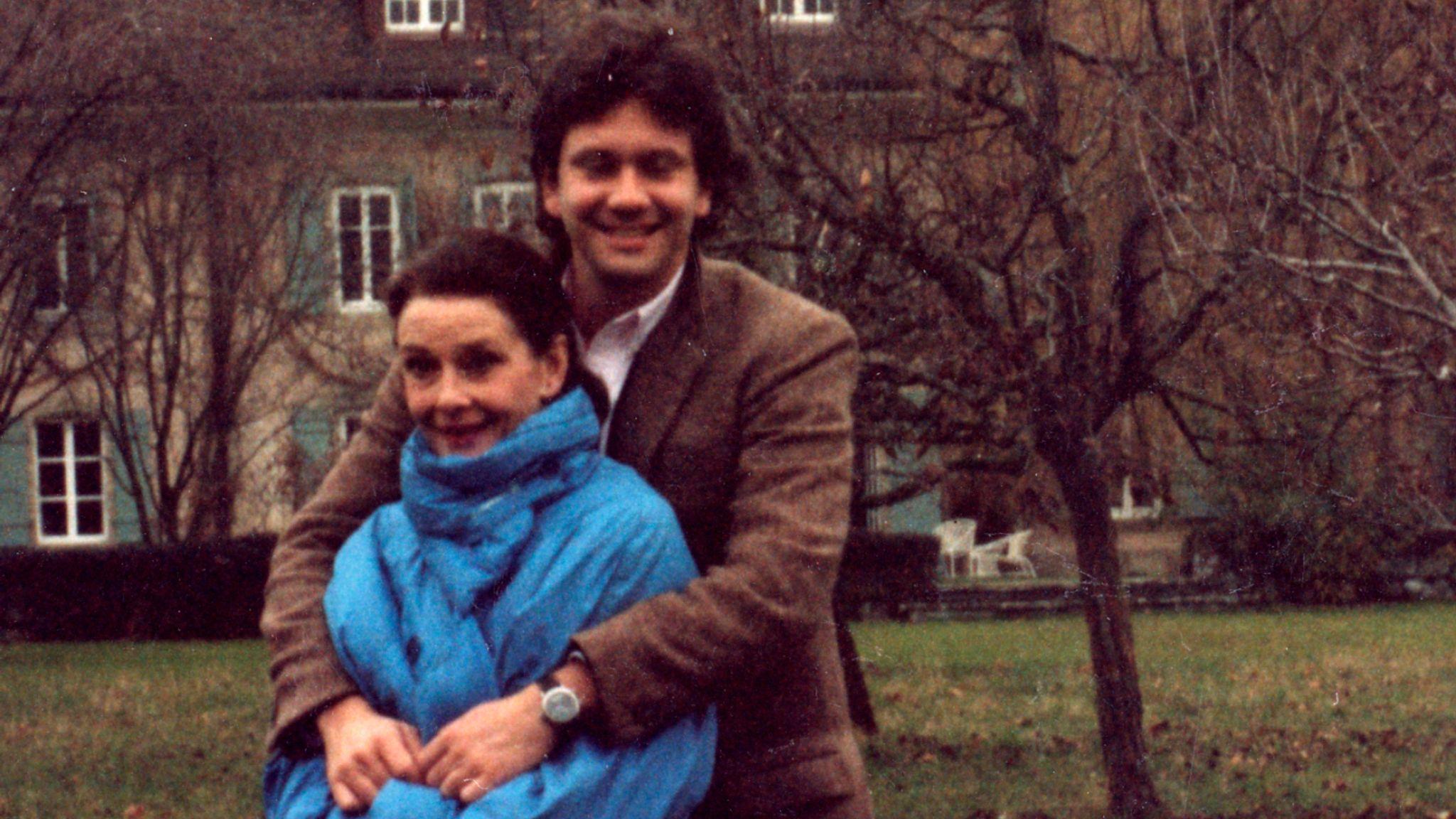 Audrey Hepburn, Sean Hepburn Ferrer 1993 Jan. with Sean, La Paisible