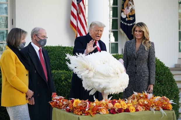 US-POLITICS-TRUMP-TURKEYS