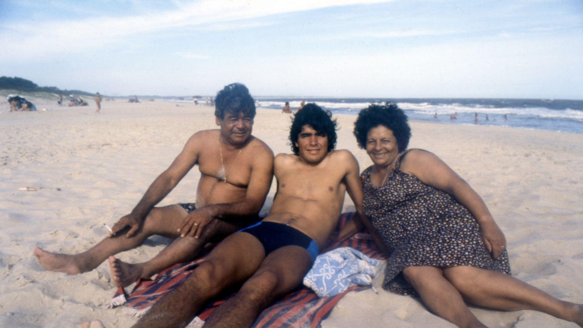 Diego Maradona. Pic: El Grafico