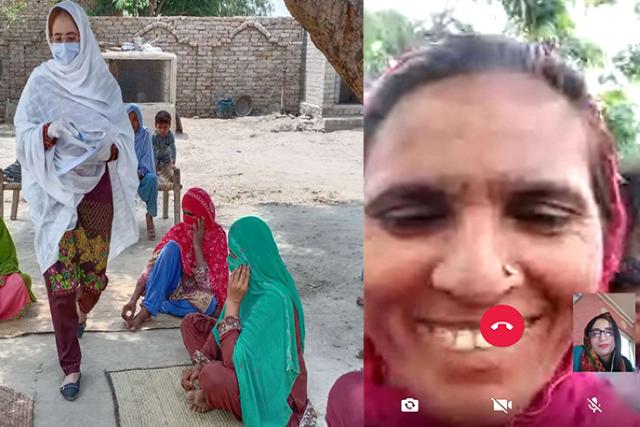Sensitizing Pakistan's female breadwinners to the risks of COVID-19 — via WhatsApp