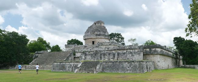 maya observatory (Credit: Daniel Schwen/CC BY-SA 4.0/Wikimedia Commons)