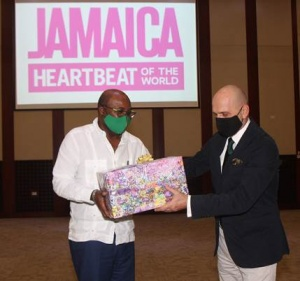 Forstmayr recognised for contribution to Jamaica tourism