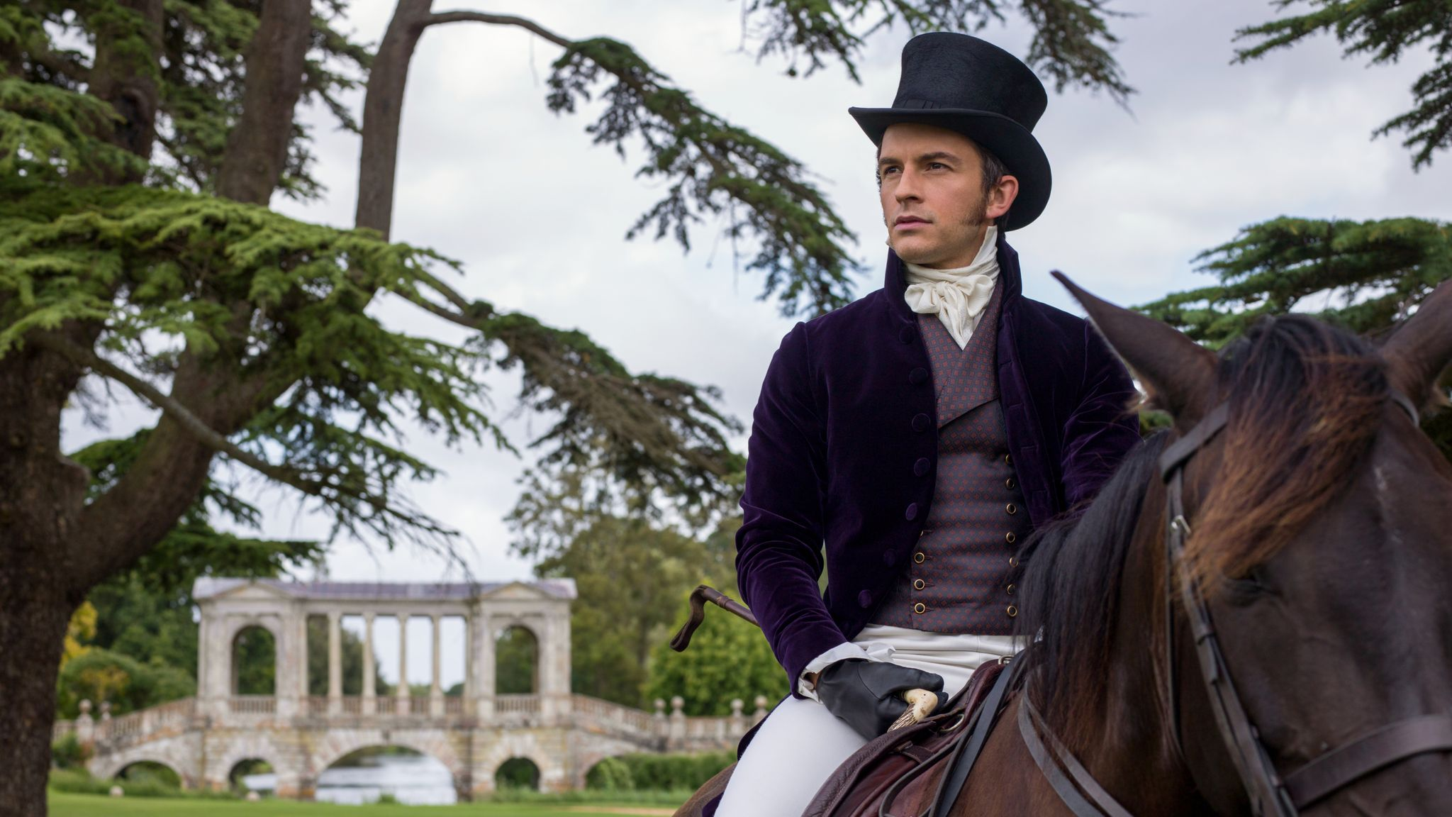 Jonathan Bailey is Anthony Bridgerton. Pic: Netflix