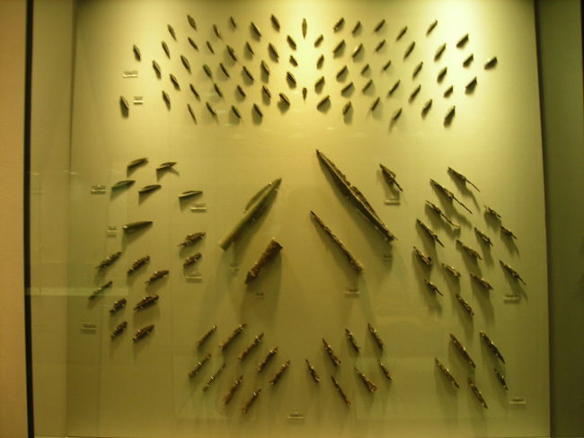 Iron arrowheads and spearheads from Thermopyles - wikimedia commons