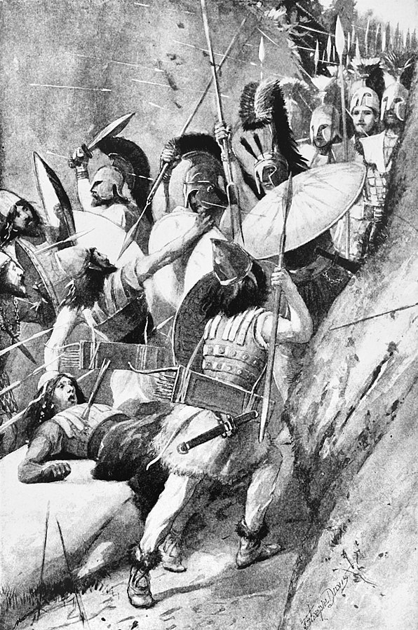 596px-Scene of the Battle of the Thermopylae (1)