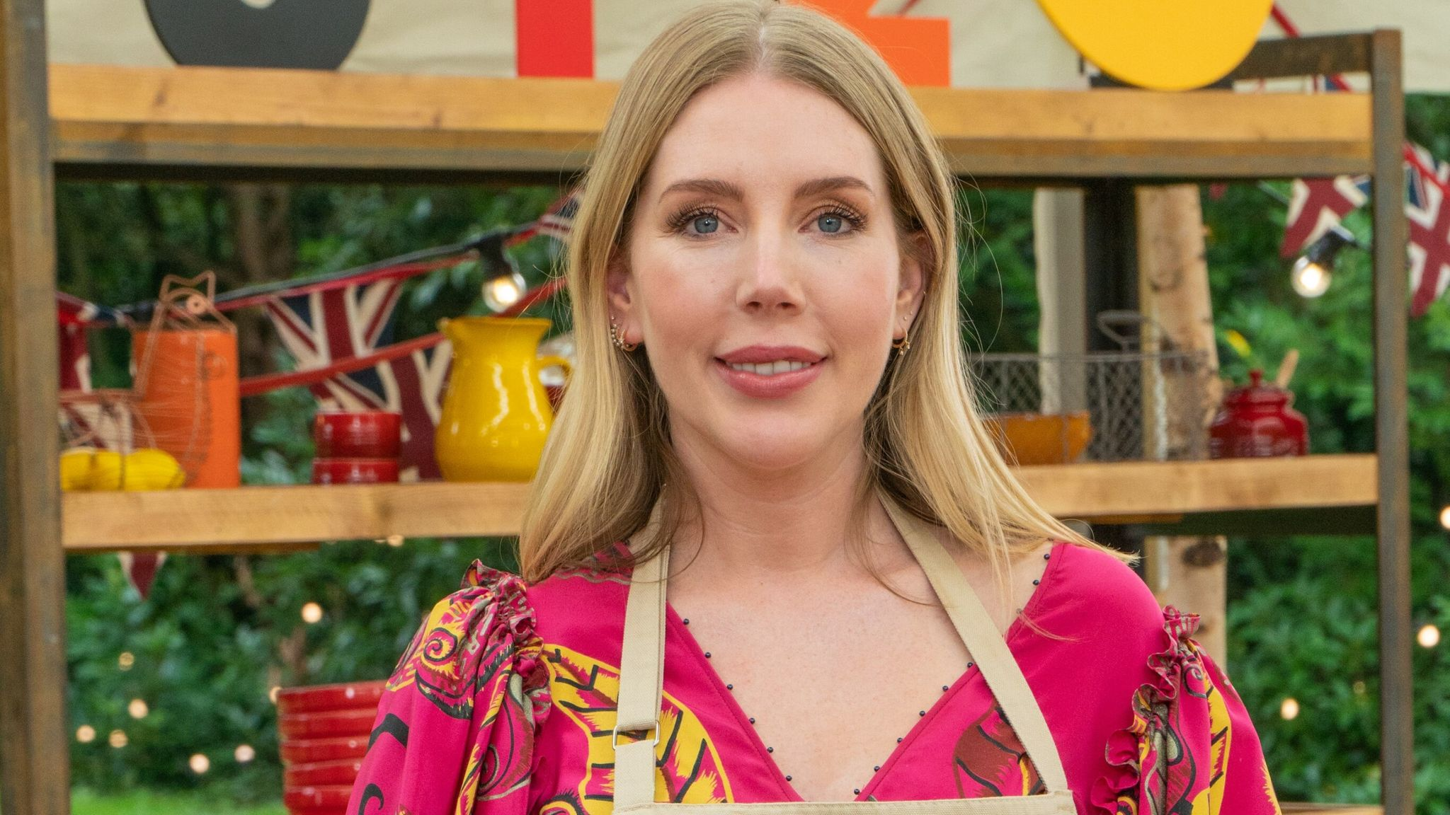 Katherine Ryan is taking part in The Great Celebrity Bake Off. Pic: Channel 4