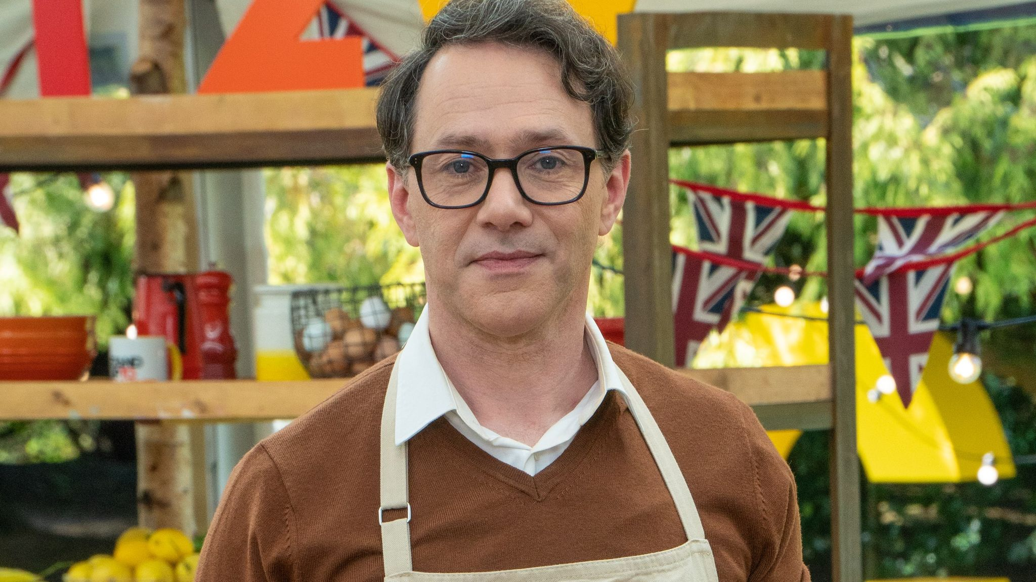 Reece Shearsmith is taking part in The Great Celebrity Bake Off. Pic: Channel 4