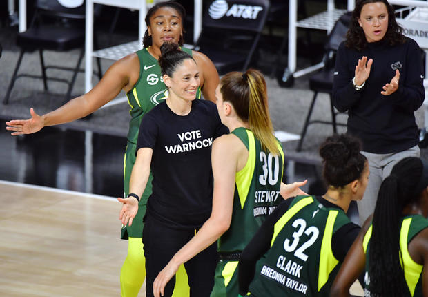 Connecticut Sun v Seattle Storm