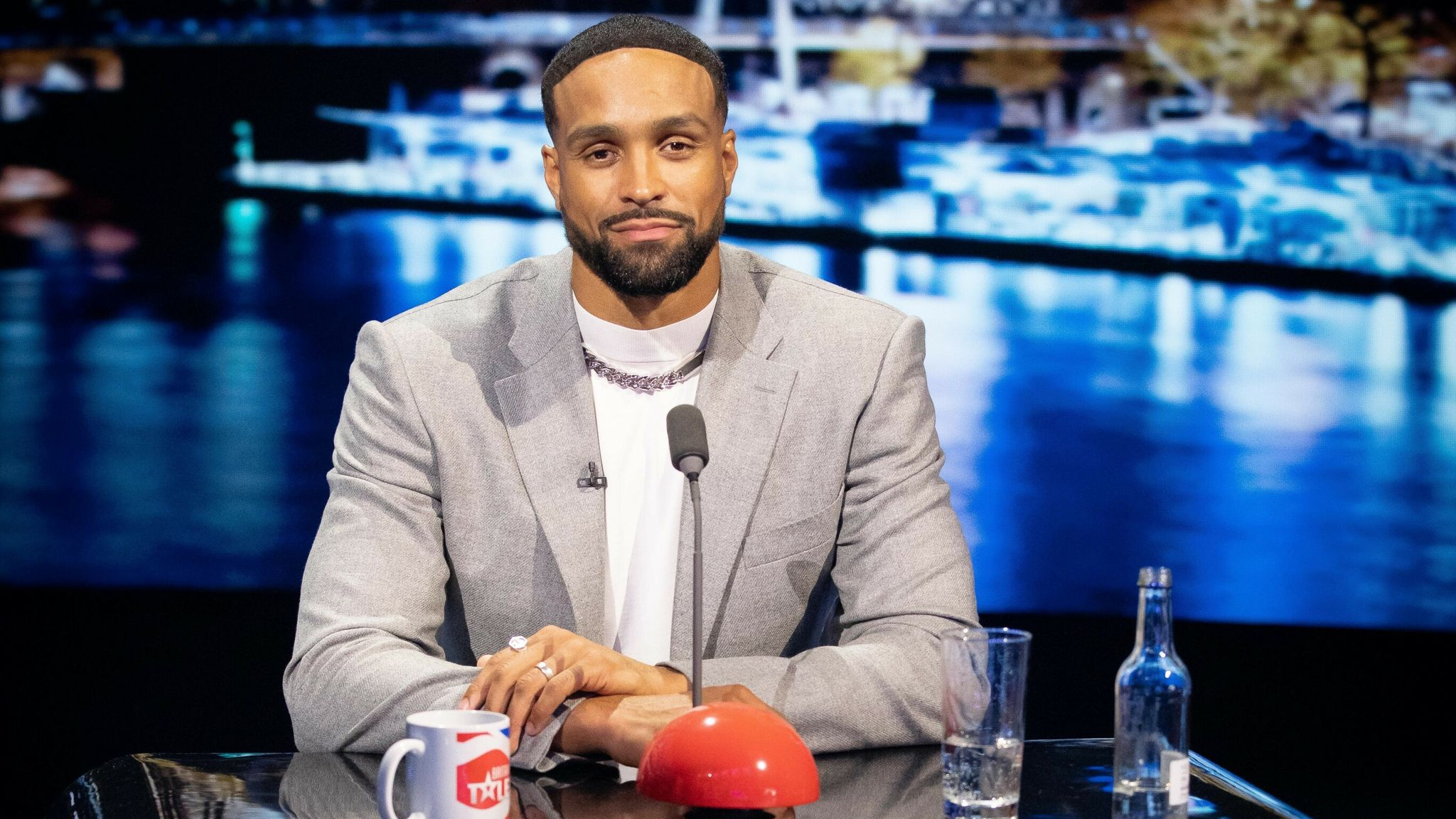 Ashley Banjo of dance troupe Diversity is a temporary judge on this series of Britain's Got Talent. Pic: Syco/ Thames/ ITV