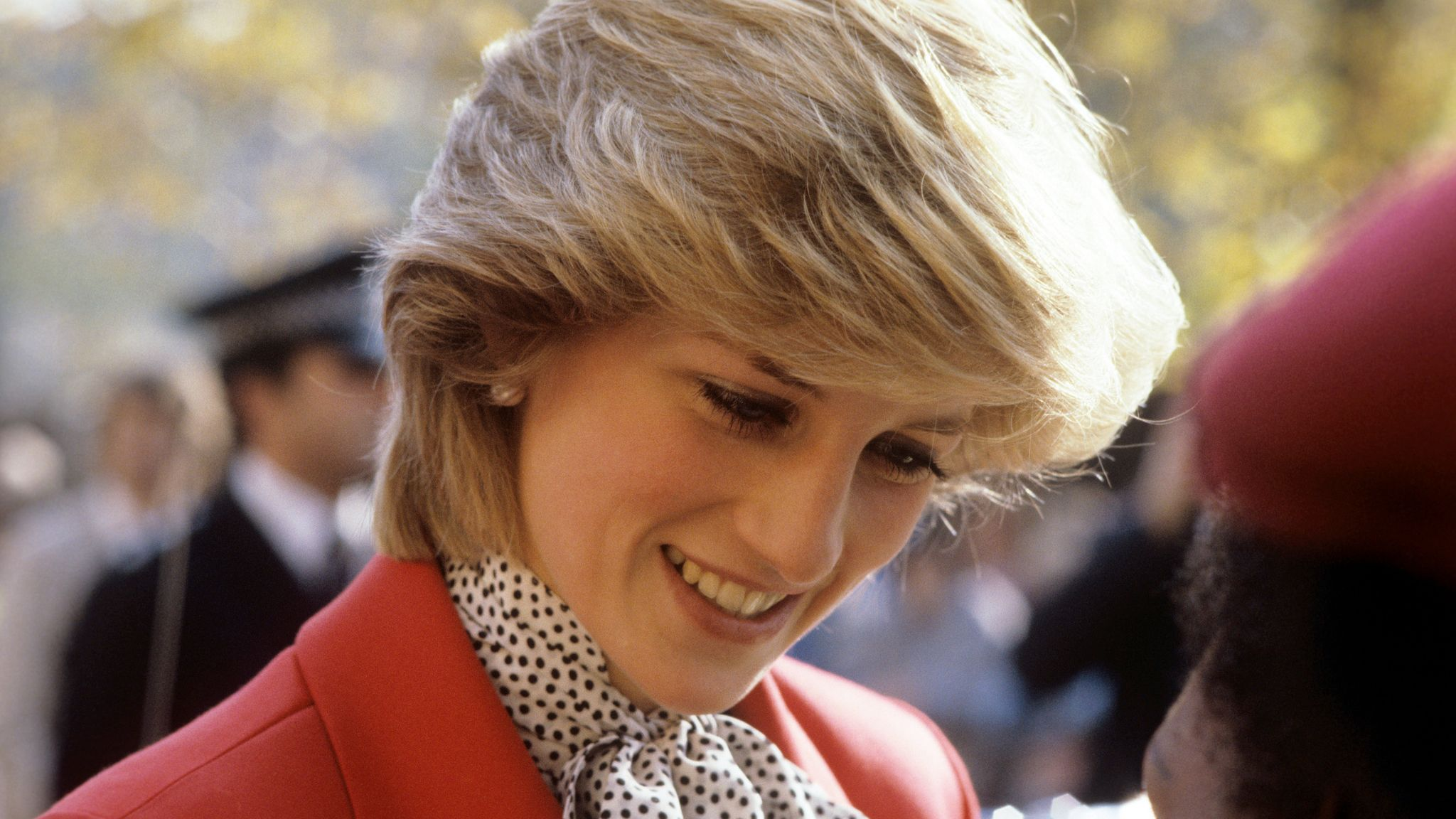 The Princess of Wales arriving at the West Indian Family Centre, in Brixton, London in 1983