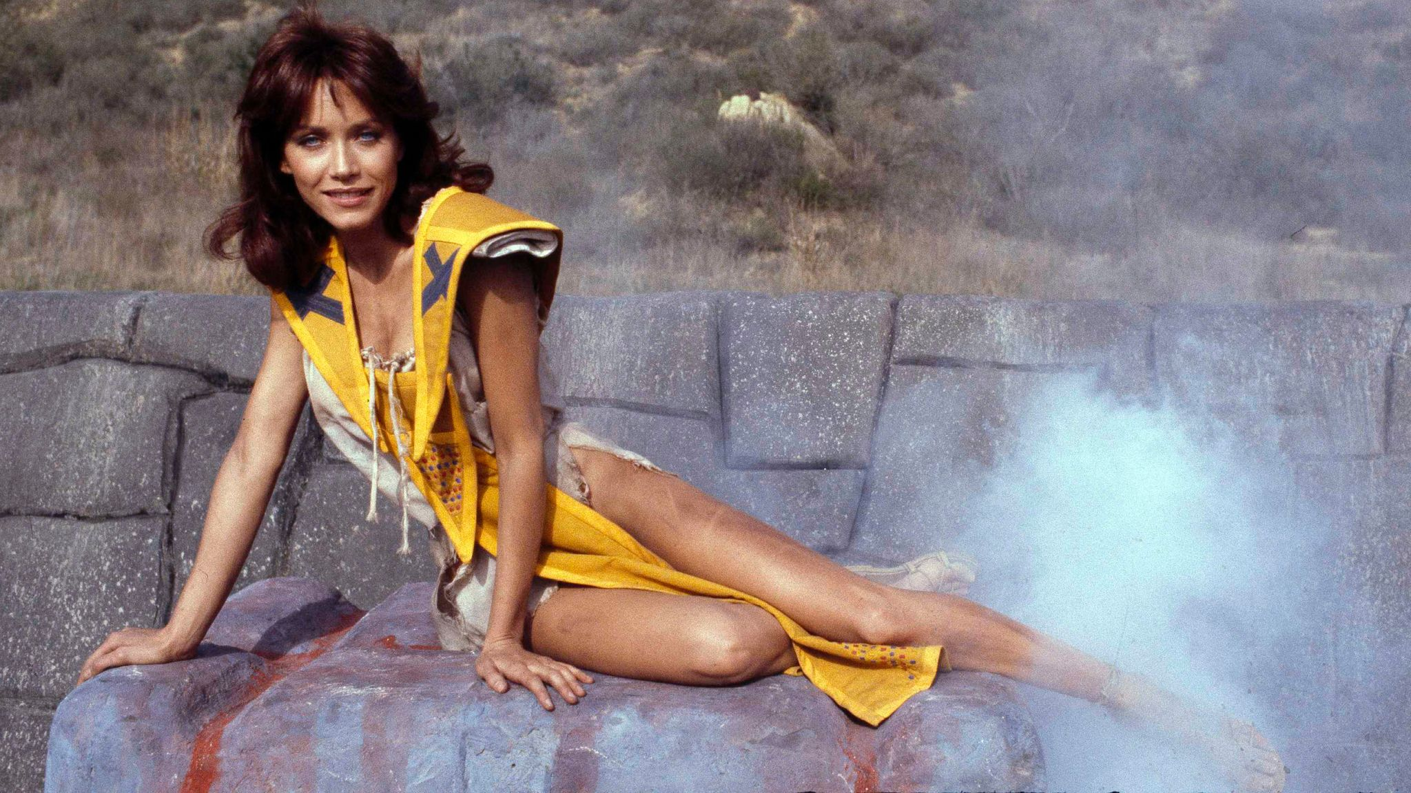 "Tanya Roberts stars as Kiri in the adventure movie ""The Beastmaster,"" Dec. 16, 1981. (AP Photo/Wally Fong)"