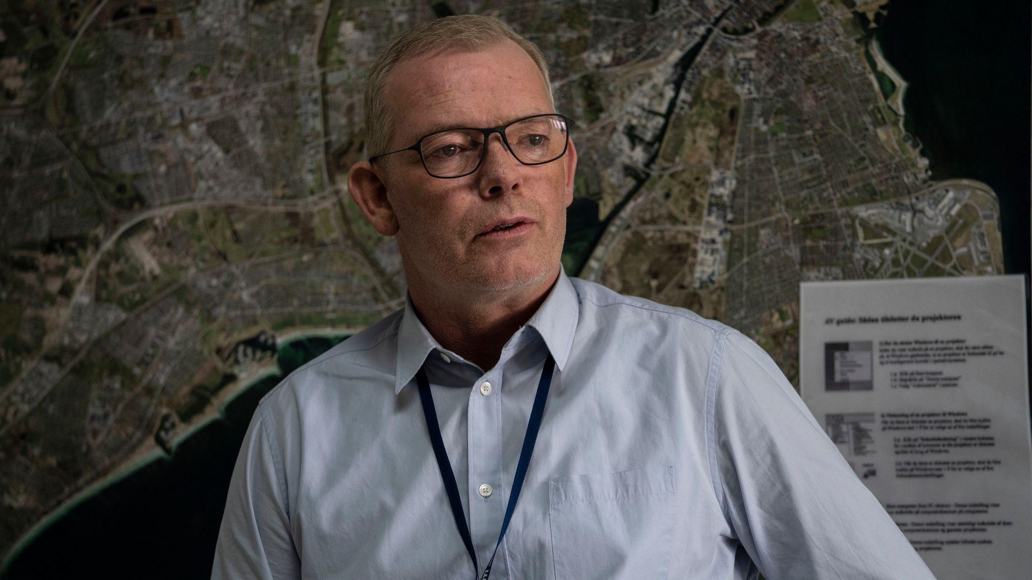 Jens Moller (SOREN MALLING) in The Investigation. Pic: BBC / misofilm & outline film / Per Arnesen