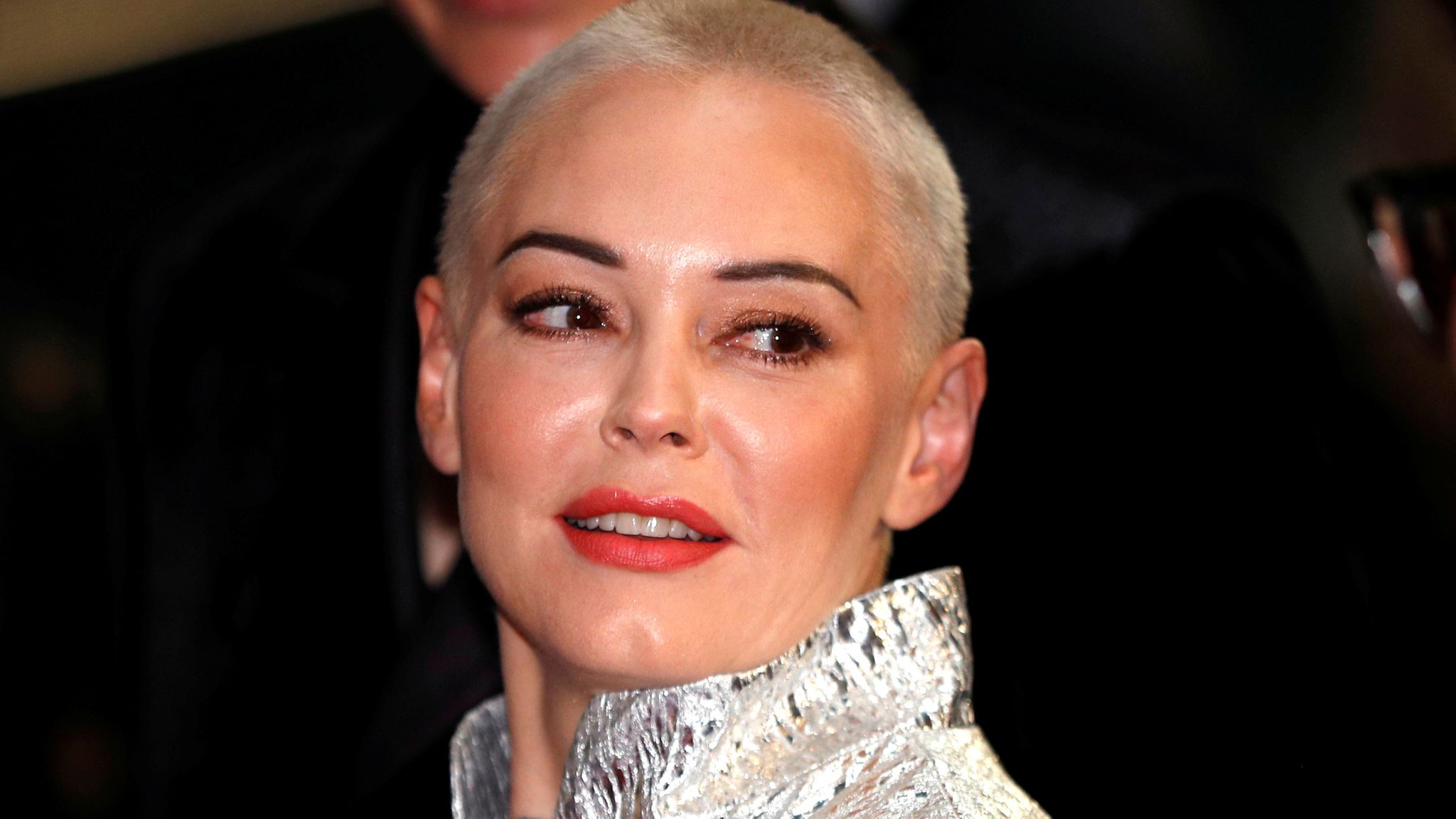 Rose McGowan once dated Marilyn Manson